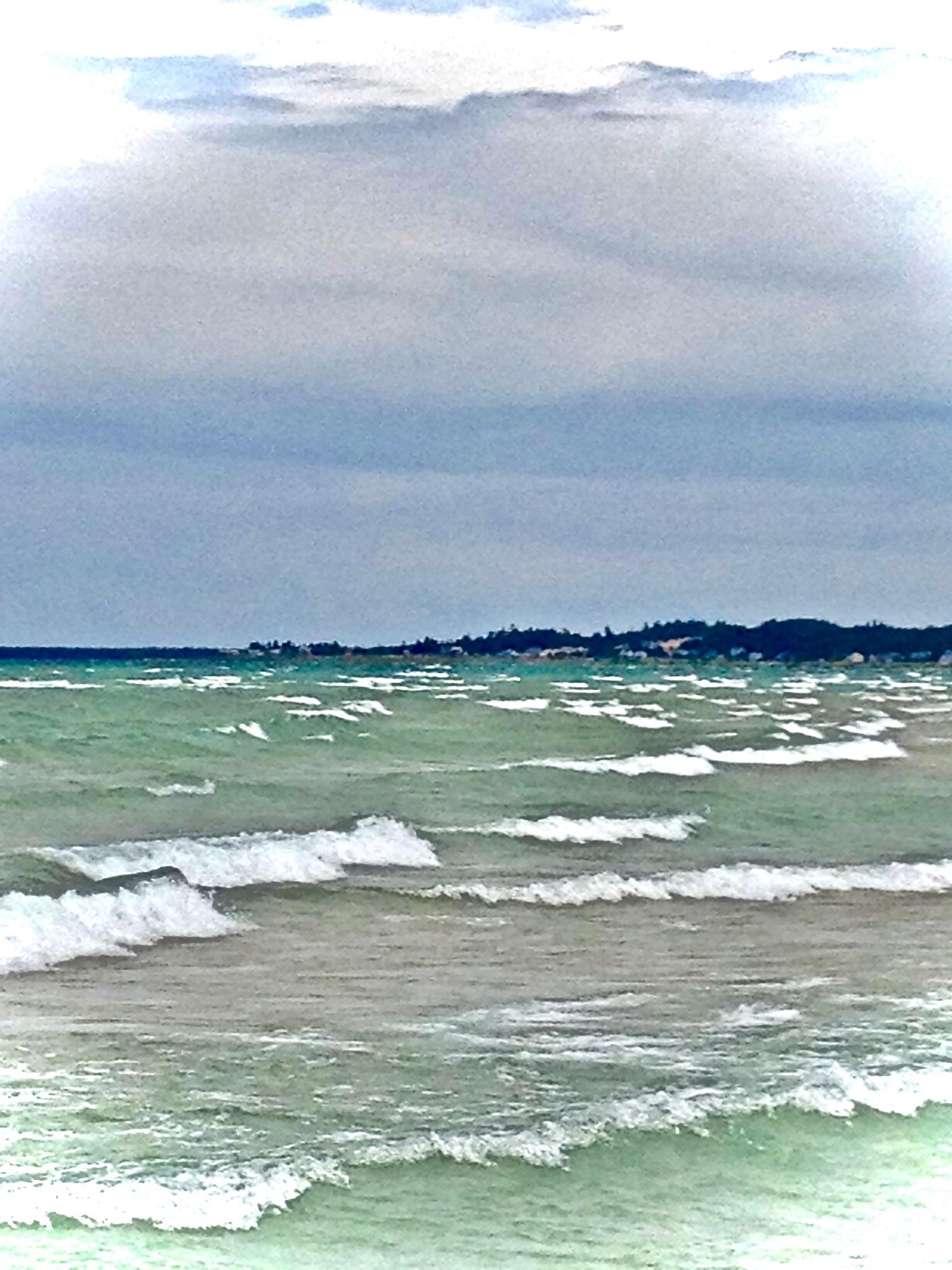 Lake Michigan  by Laura Ann Morche'