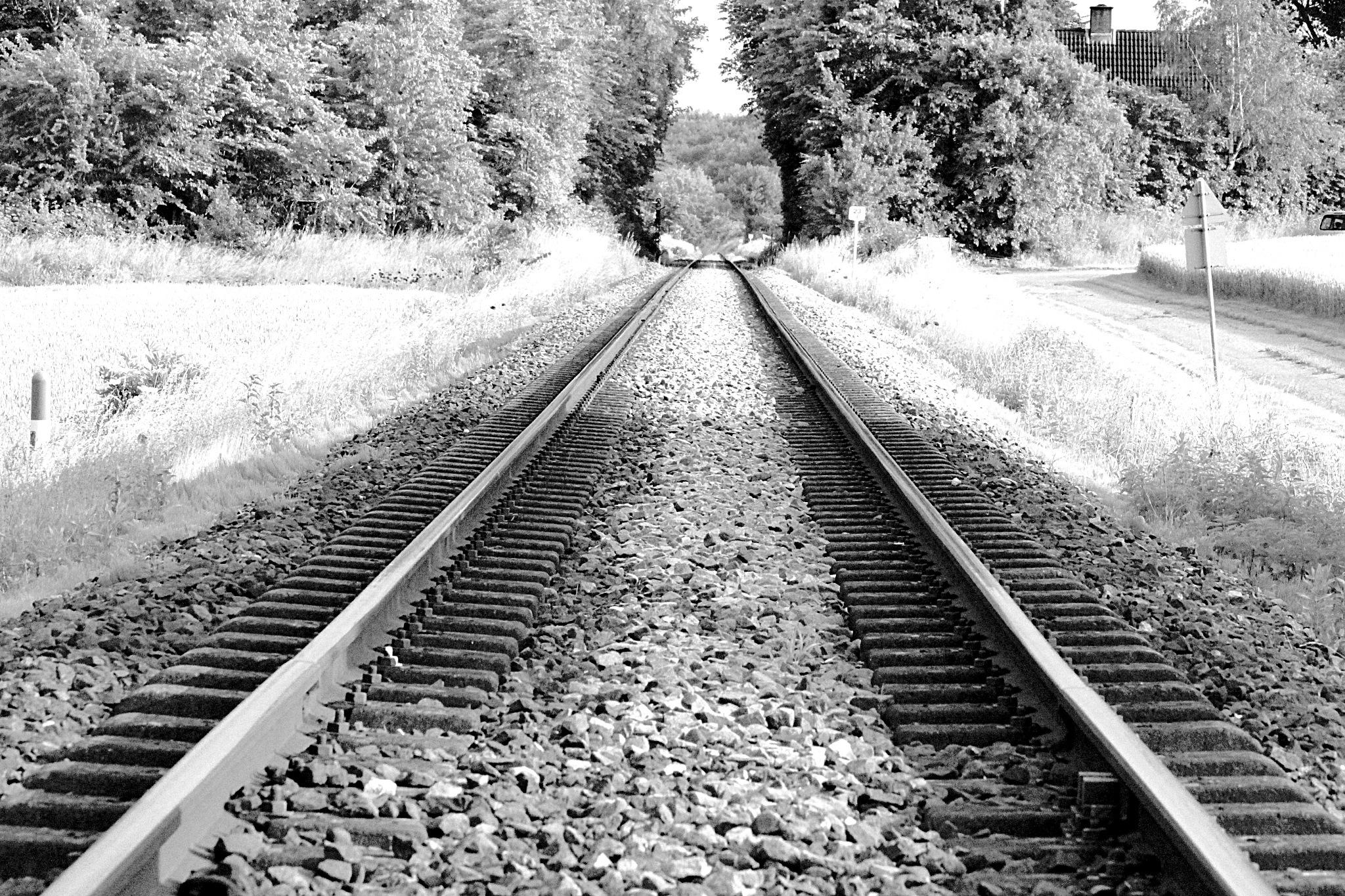 Railroad by Mille Weinreich-Pedersen