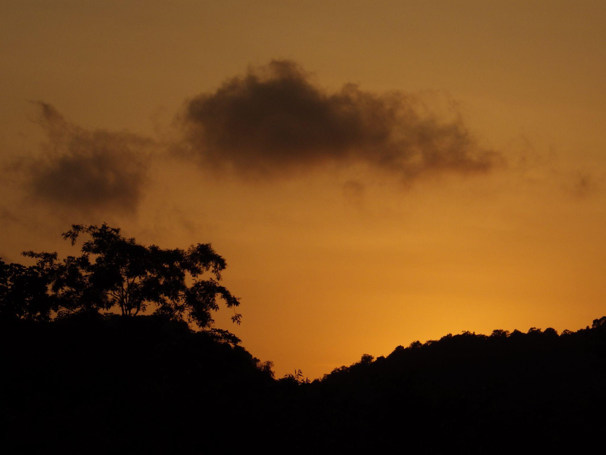 sunset by Suprasad v