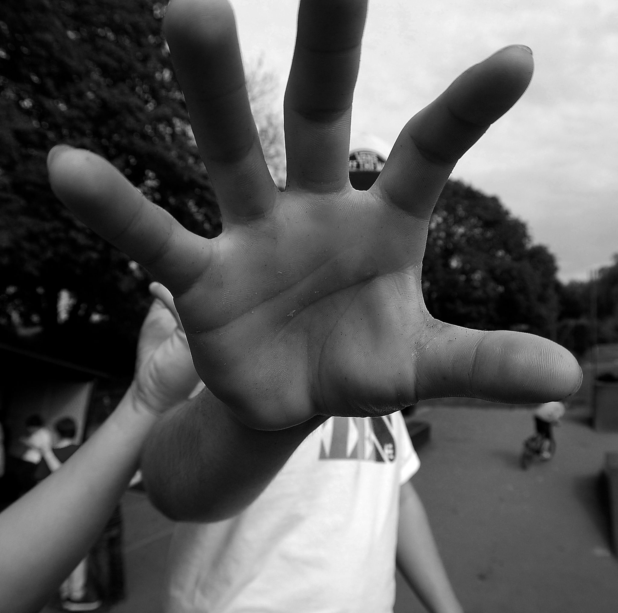 hand by Michael Parmenter-Pluck