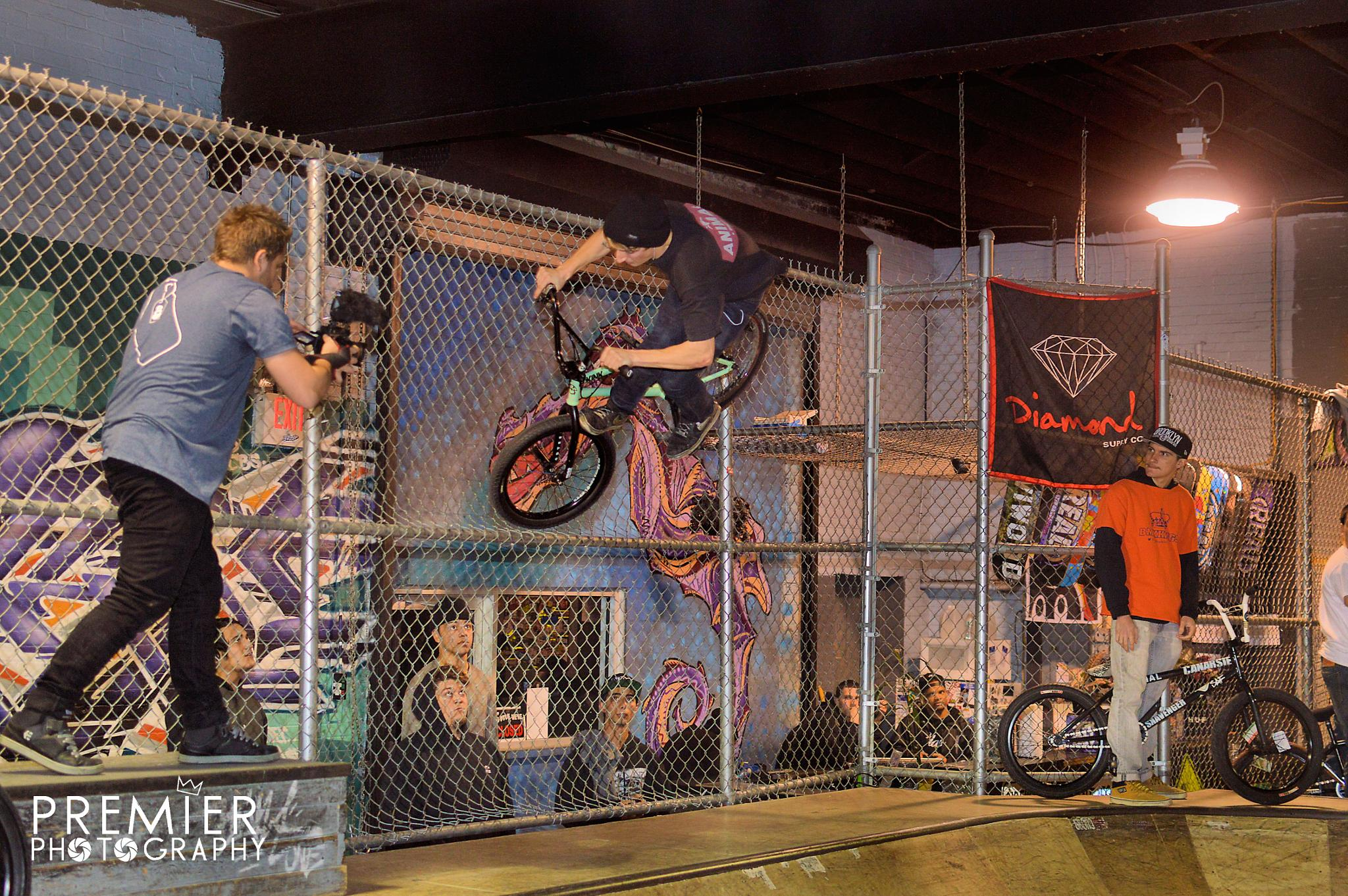 Fence FootJam  by PremierPhotography