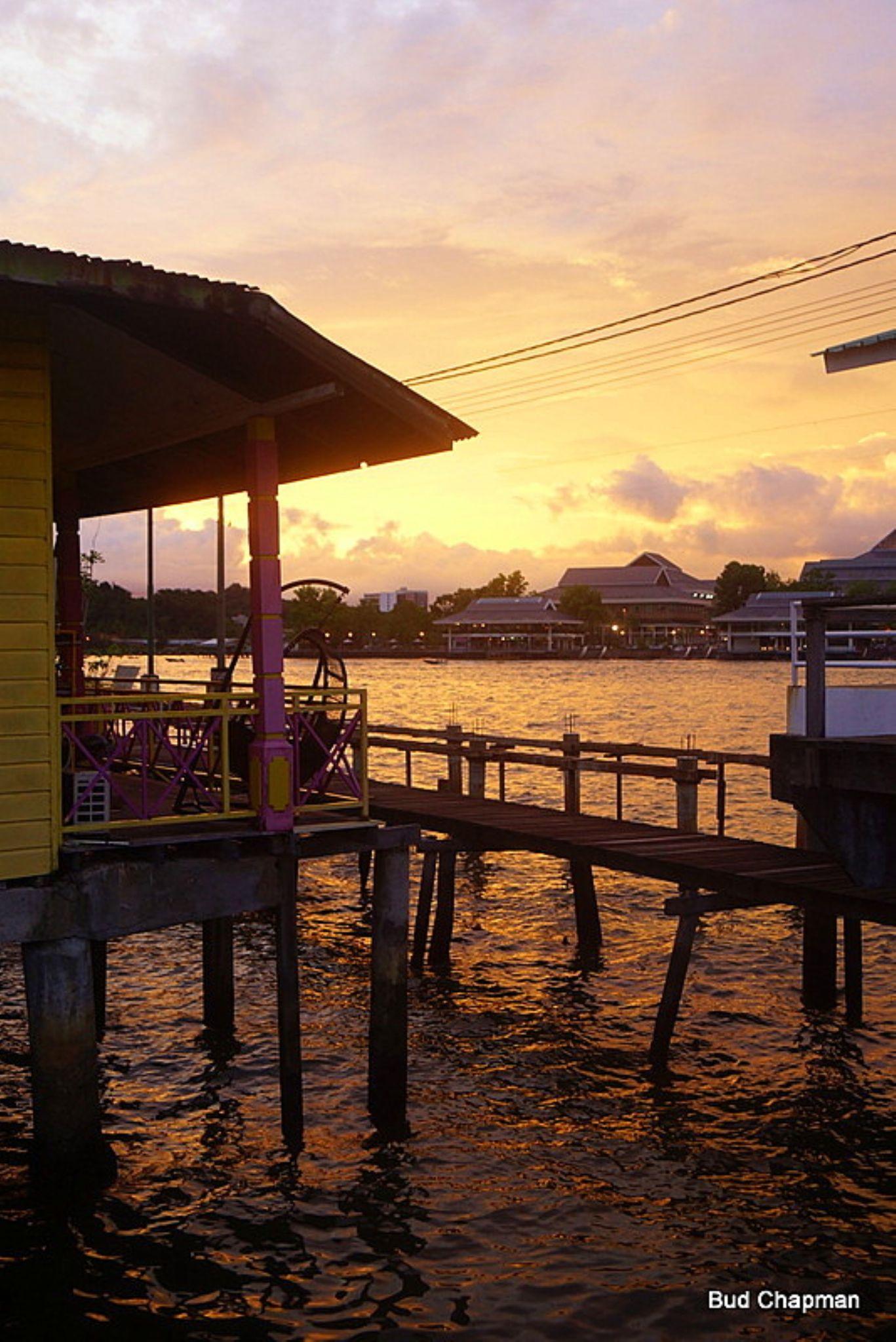 Kampong Ayer Sunset - Brunei by Budchap