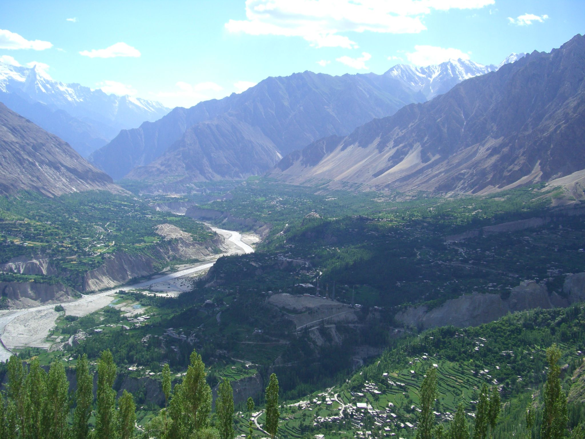 Hunza_Valley_from_Eagle_Point by aziz ahmed heikal