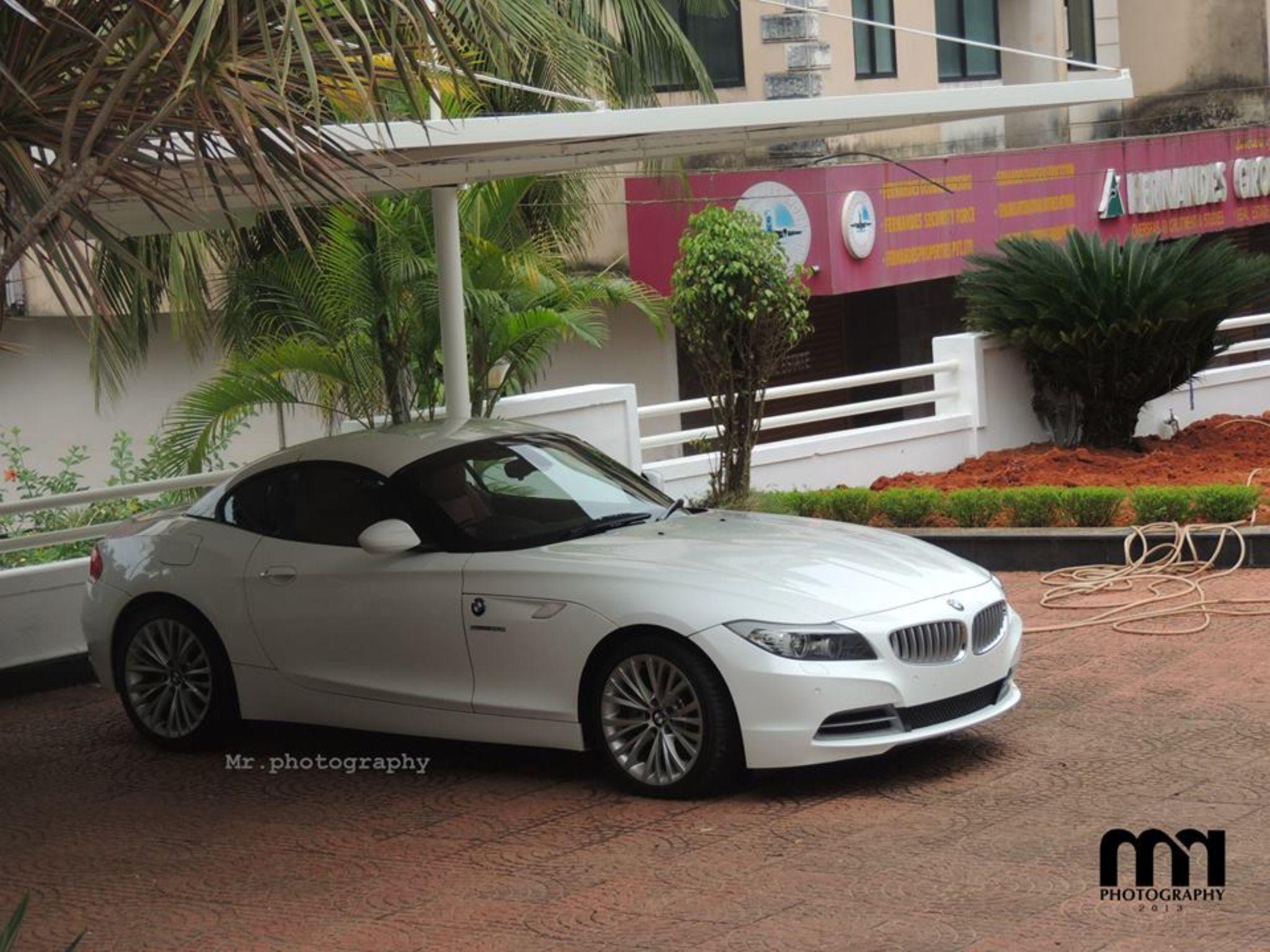 BMW Z4 TOP VIEW  by sanadrahman (Mr.photography mangalore)
