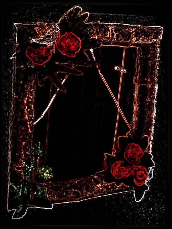 A mirror...  by Monica's Photos.