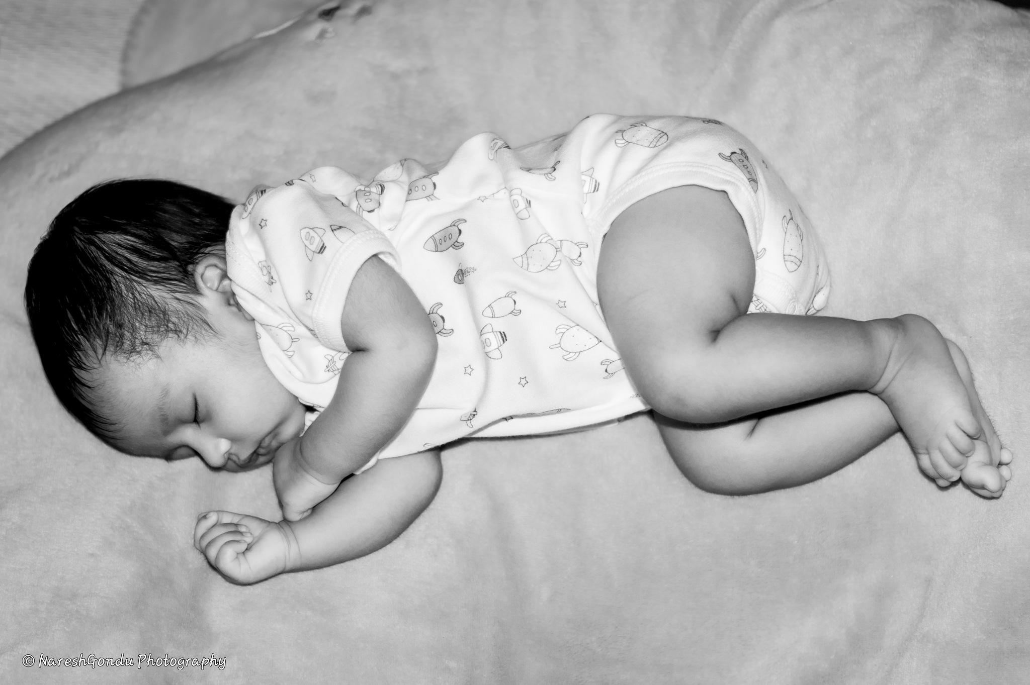 Sleeping Angel  by Naresh Gondu