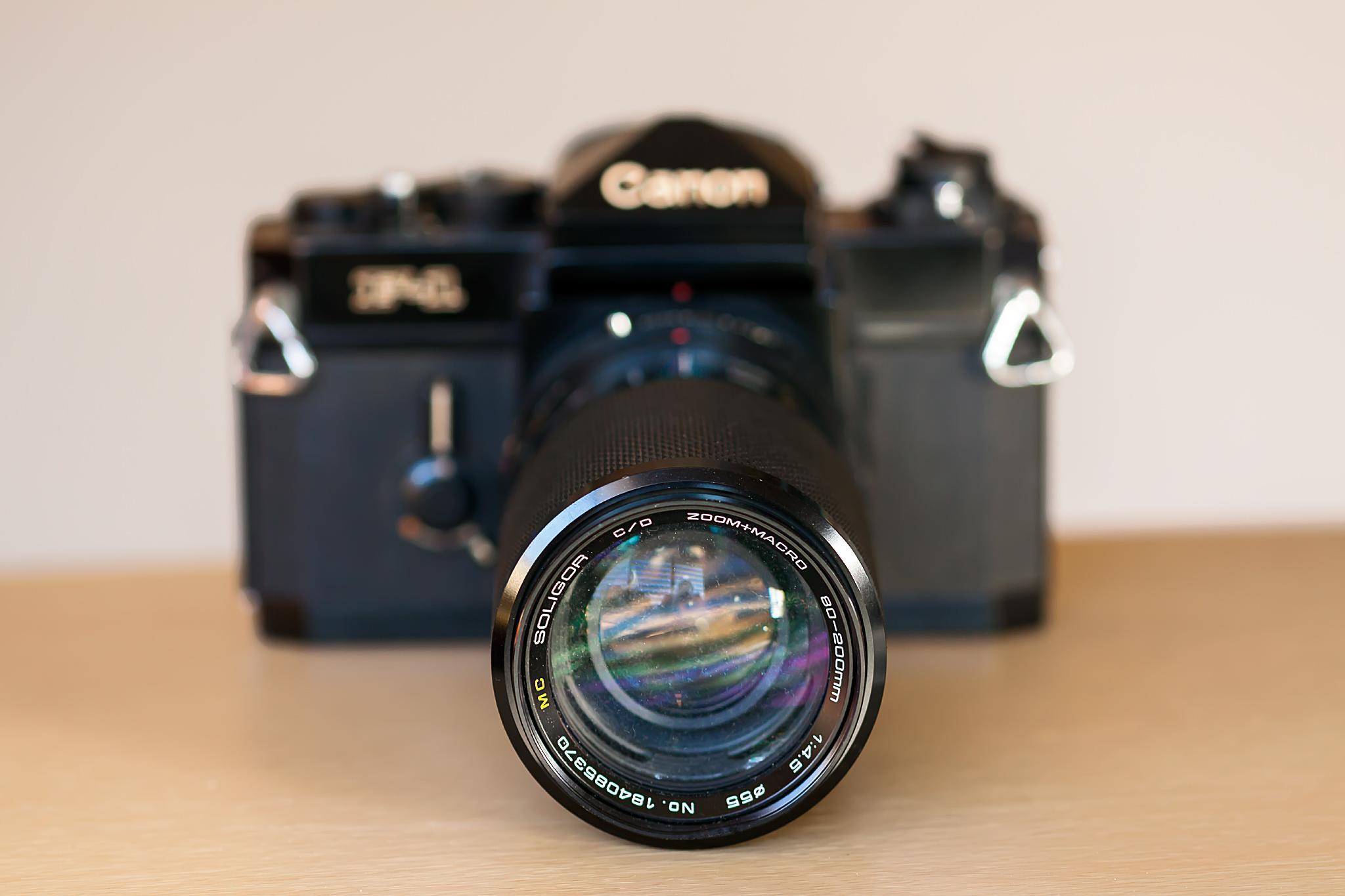 Canon F1 by Tony Guzman
