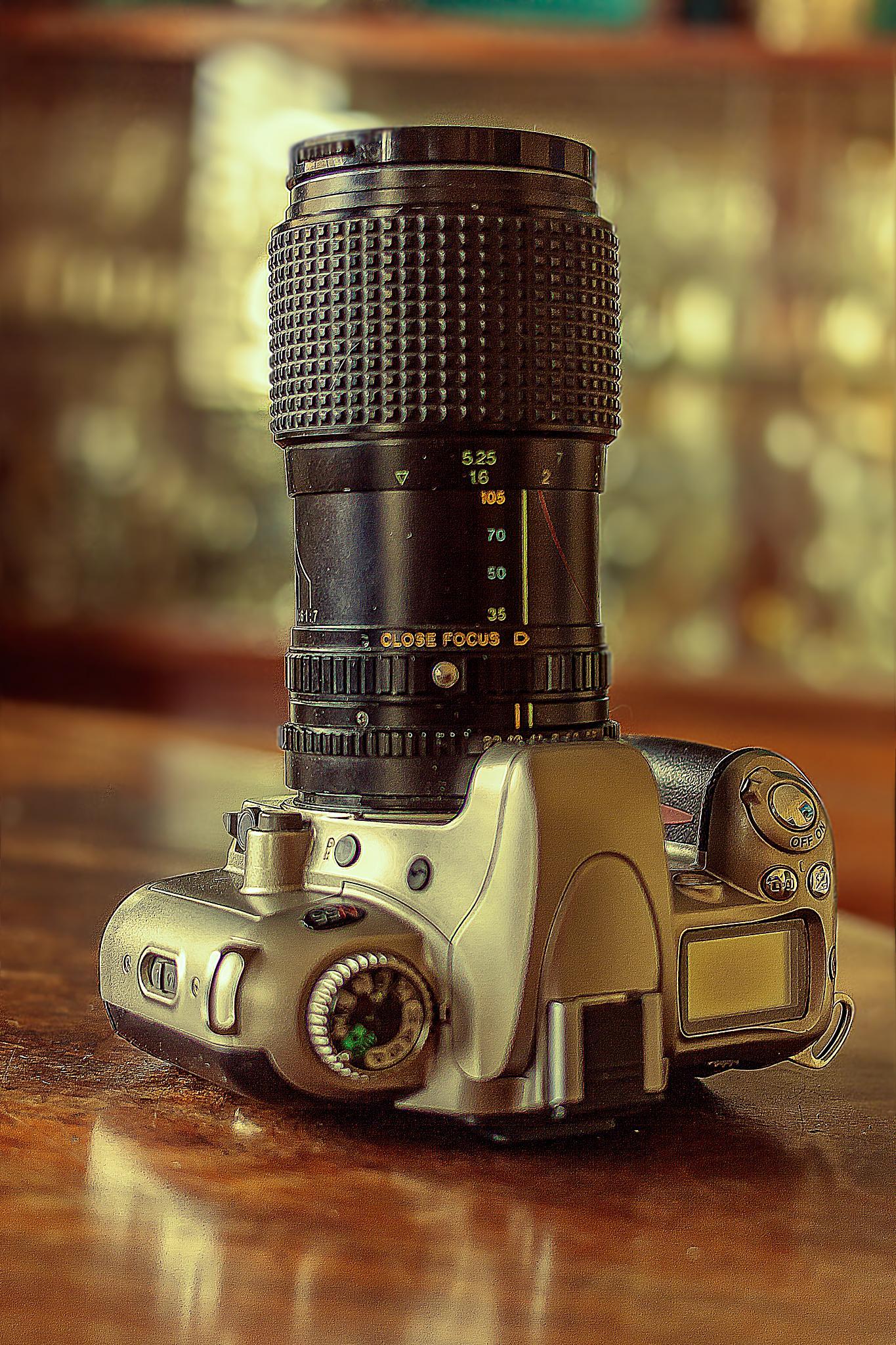 Vintage Nikon N55 by Tony Guzman