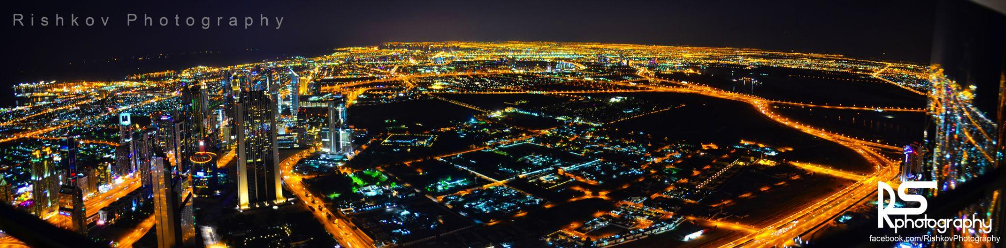 Burj Khalifa Panoramic. by Rishkov