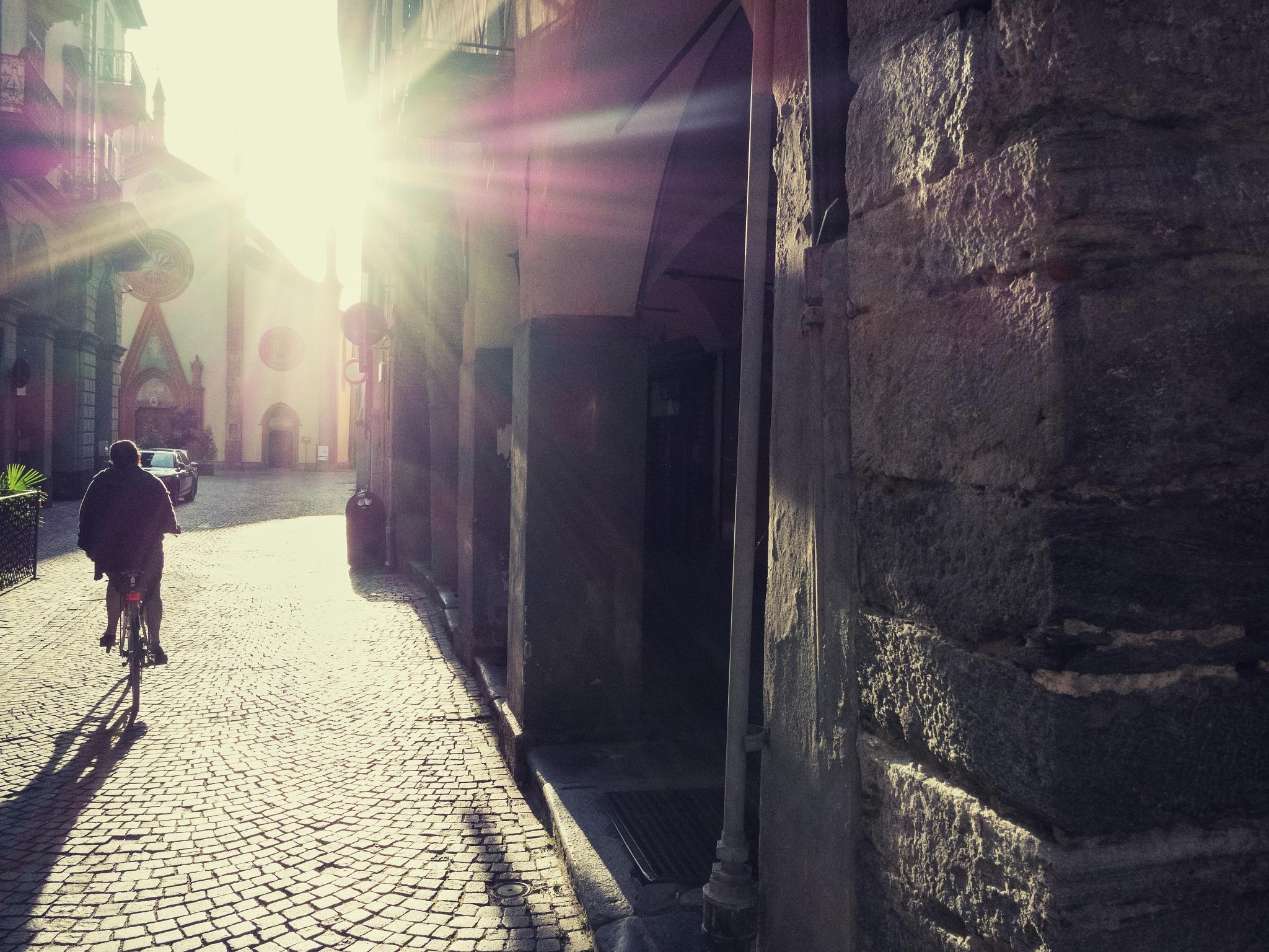 Early morning by Giuseppe Petenzi