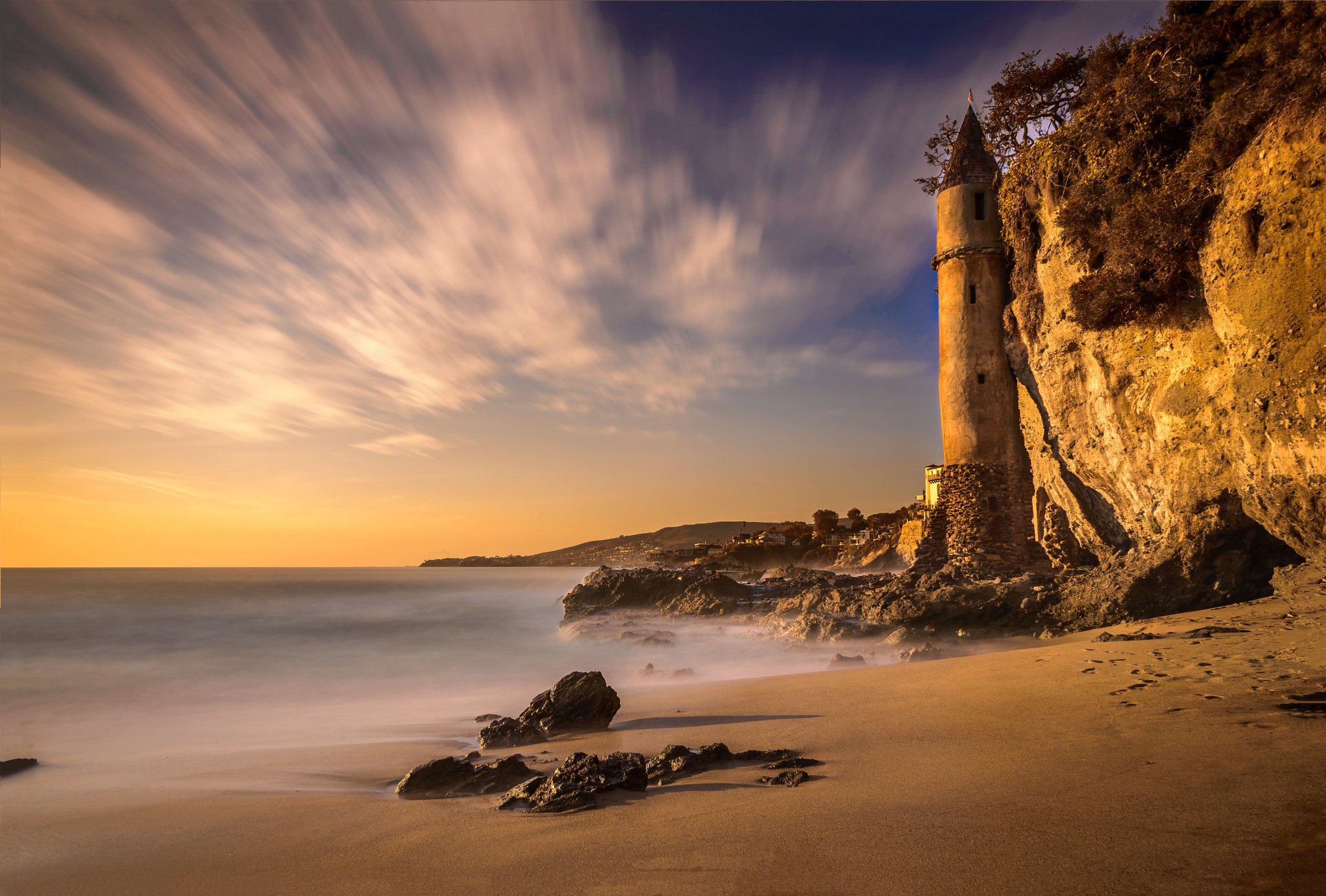 victoria beach tower by suhad chahla