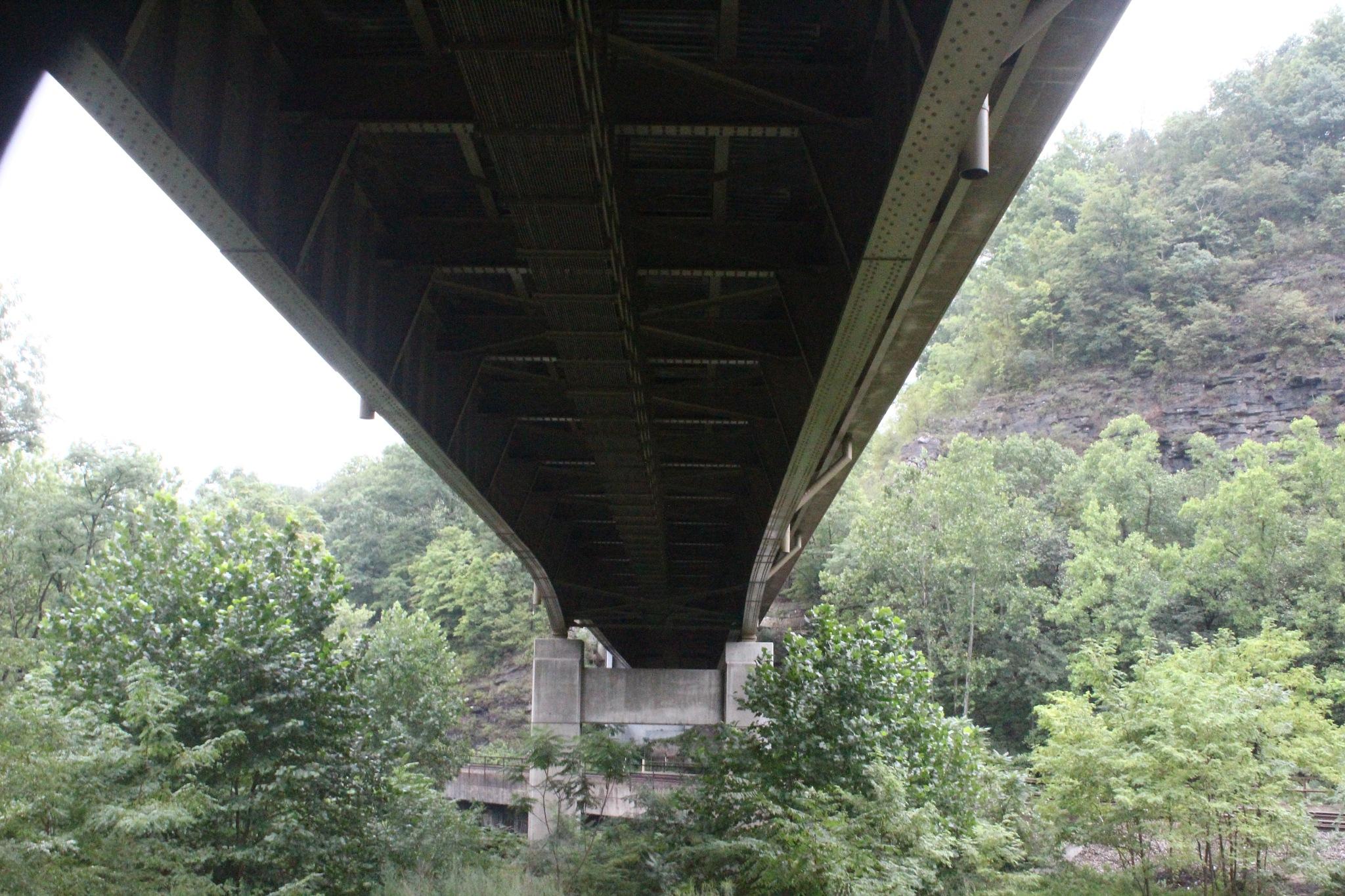 under the bridge by Jim