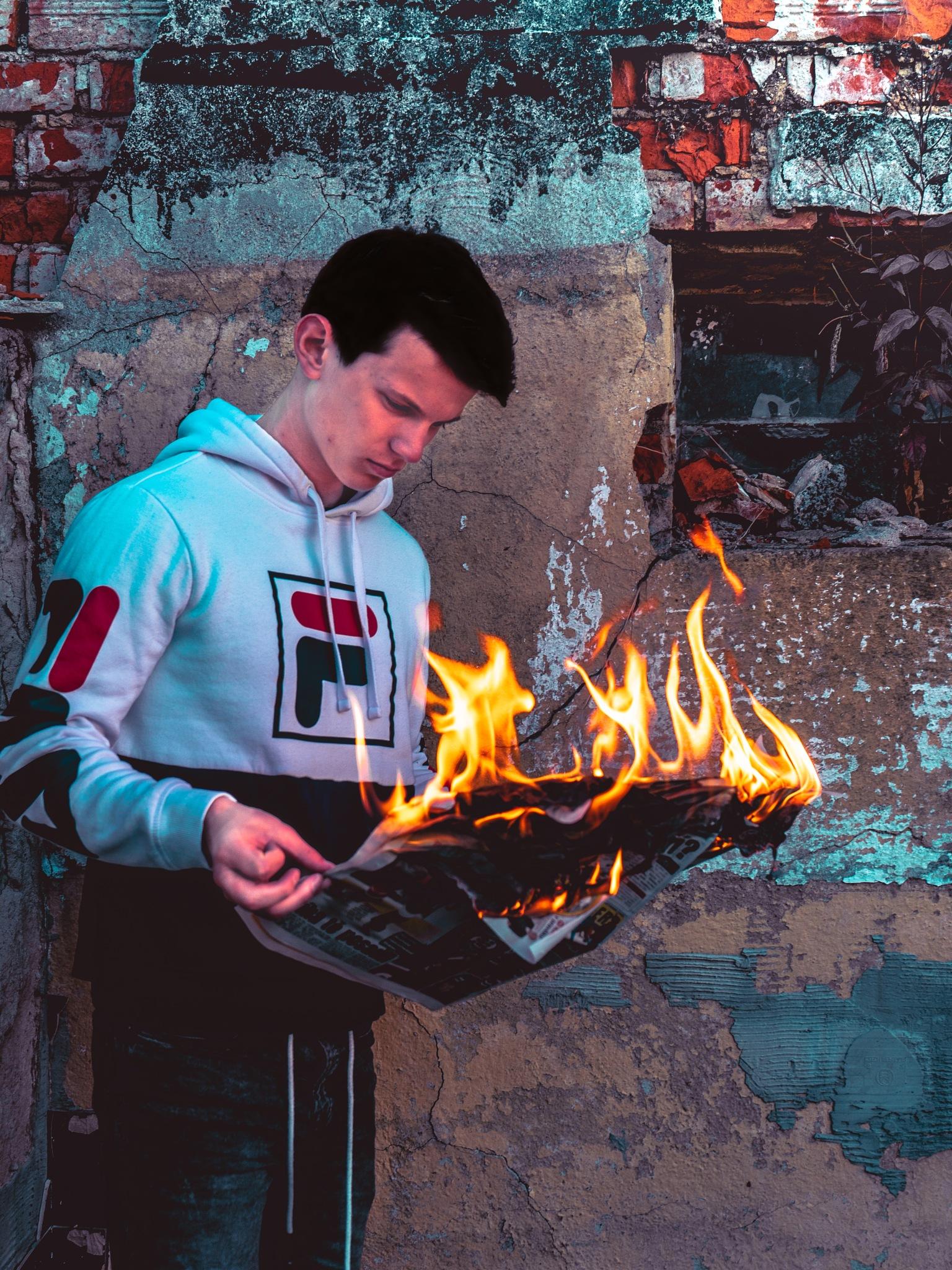 """Project Fire""  Hot News   by Fabio Napoleone"
