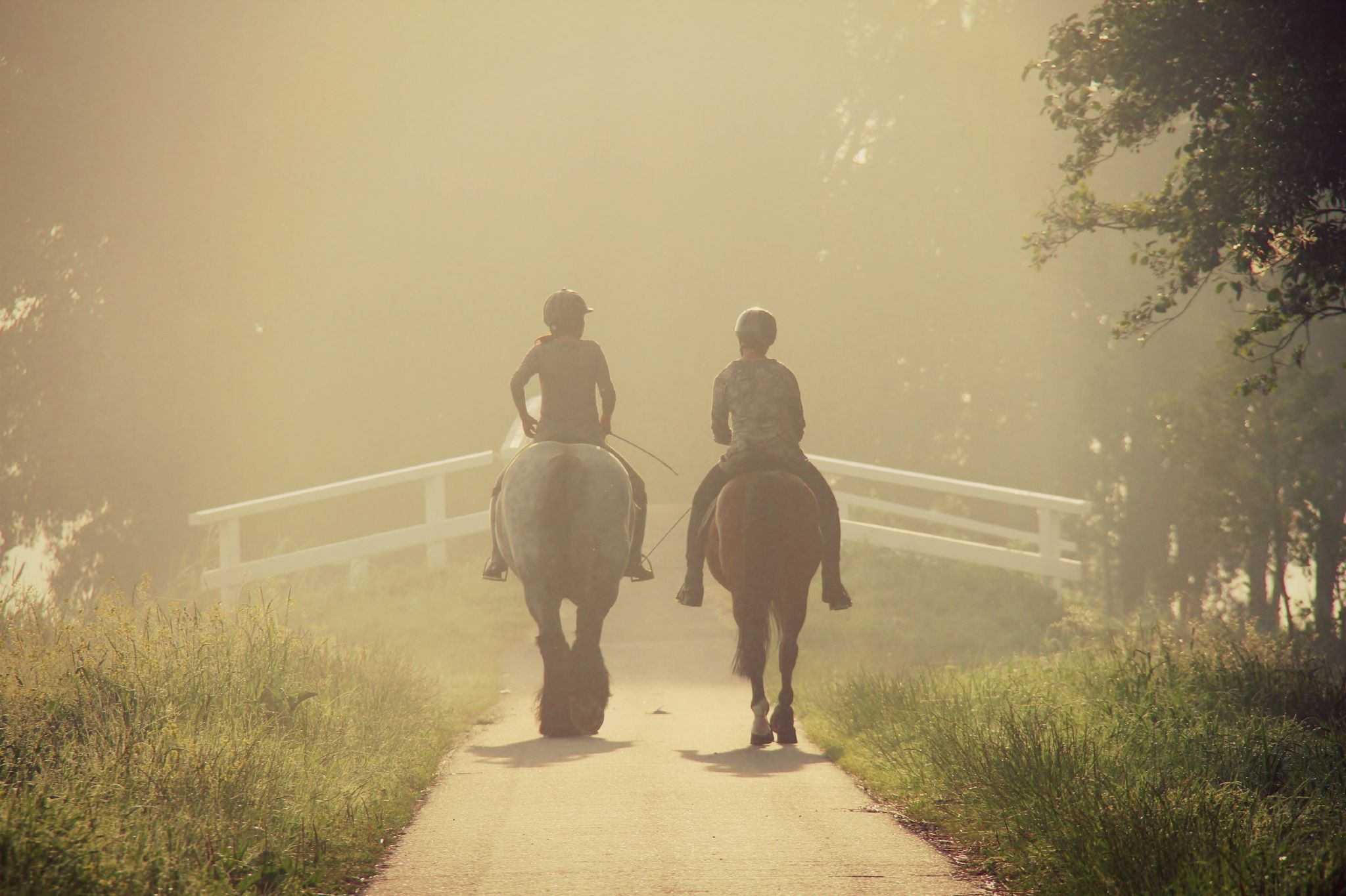 early ride by annemieke