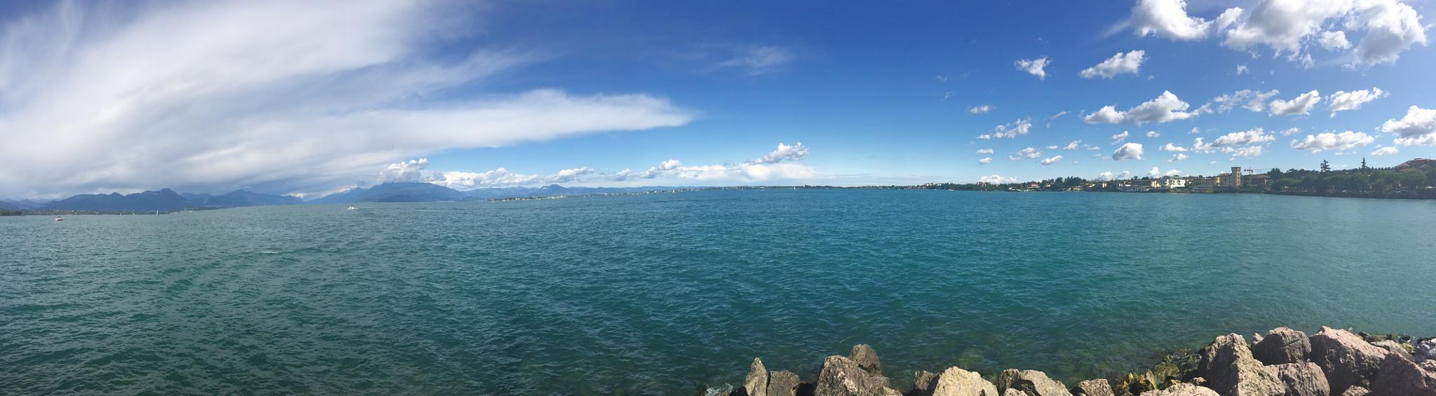 Photo in Nature #lake #sky #sun