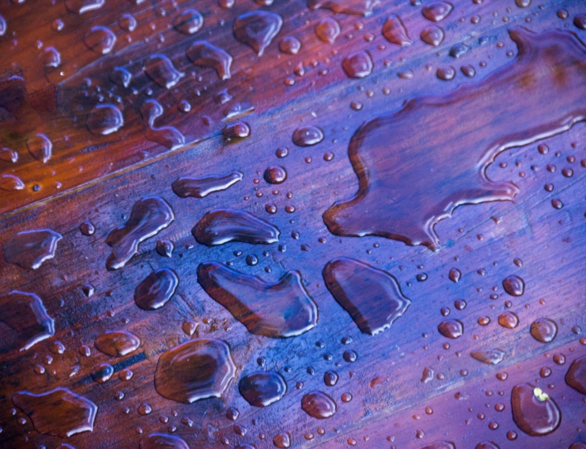 raindrops by Birthe Kirk Gawinski