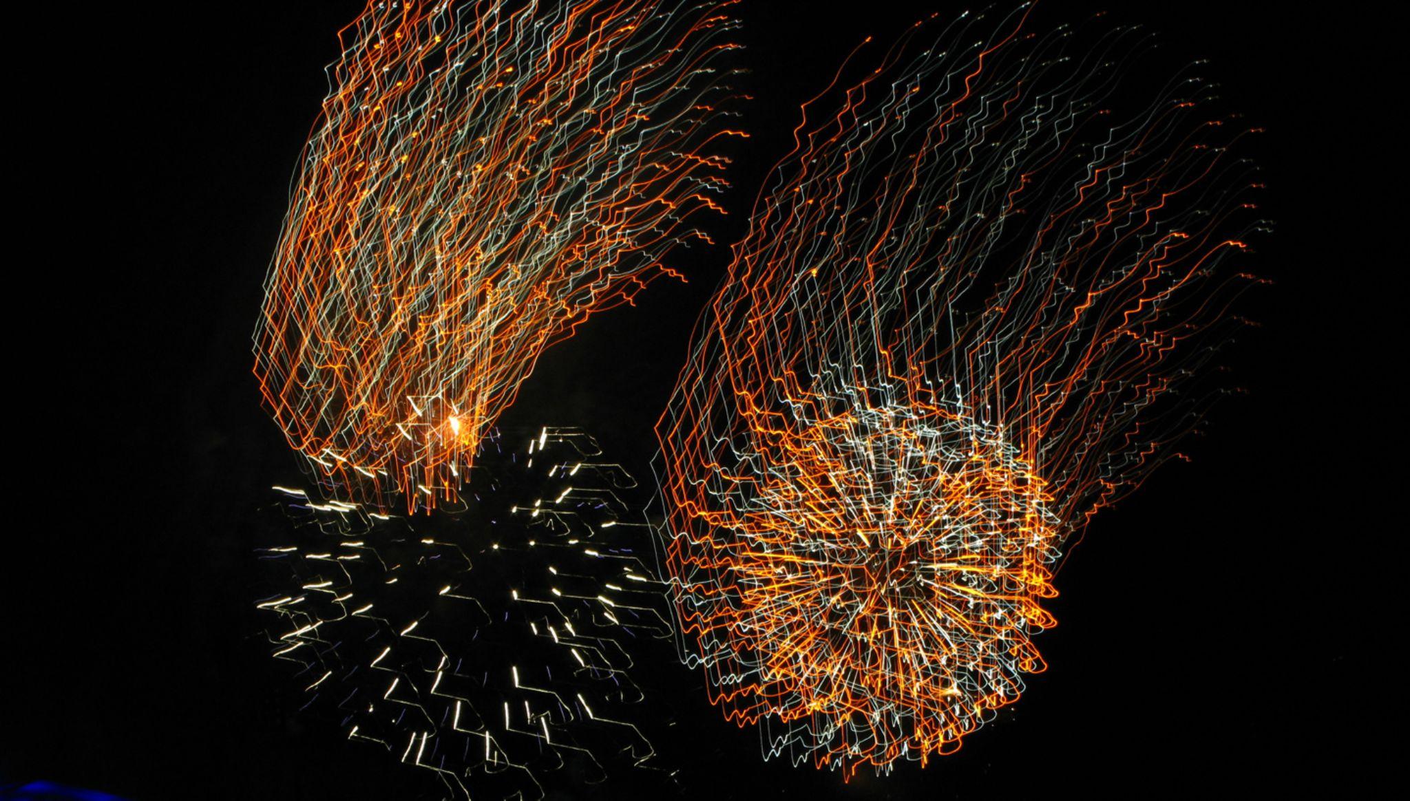 fireworks by Birthe Kirk Gawinski