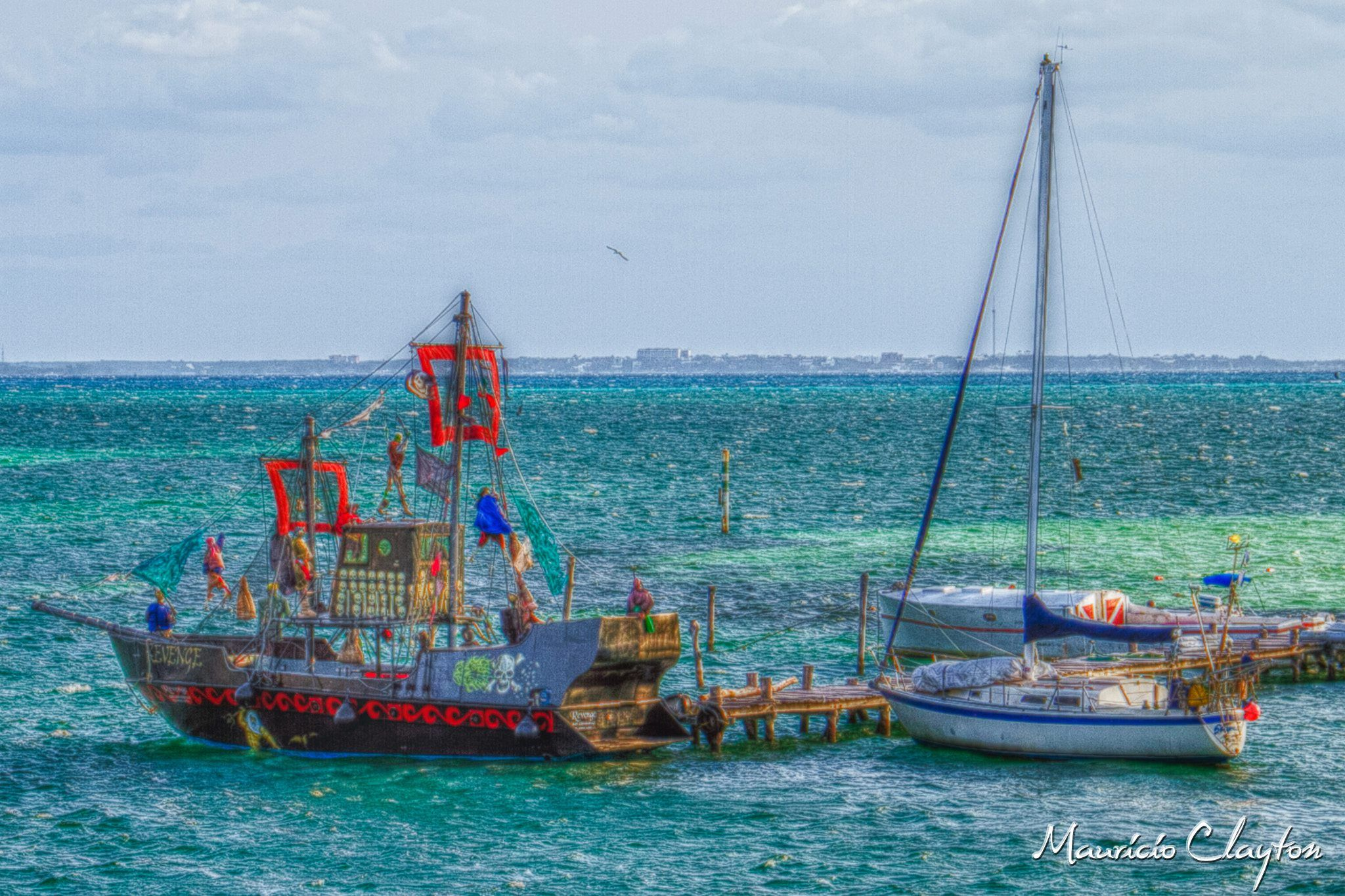 pirate ships by mauricio.clayton