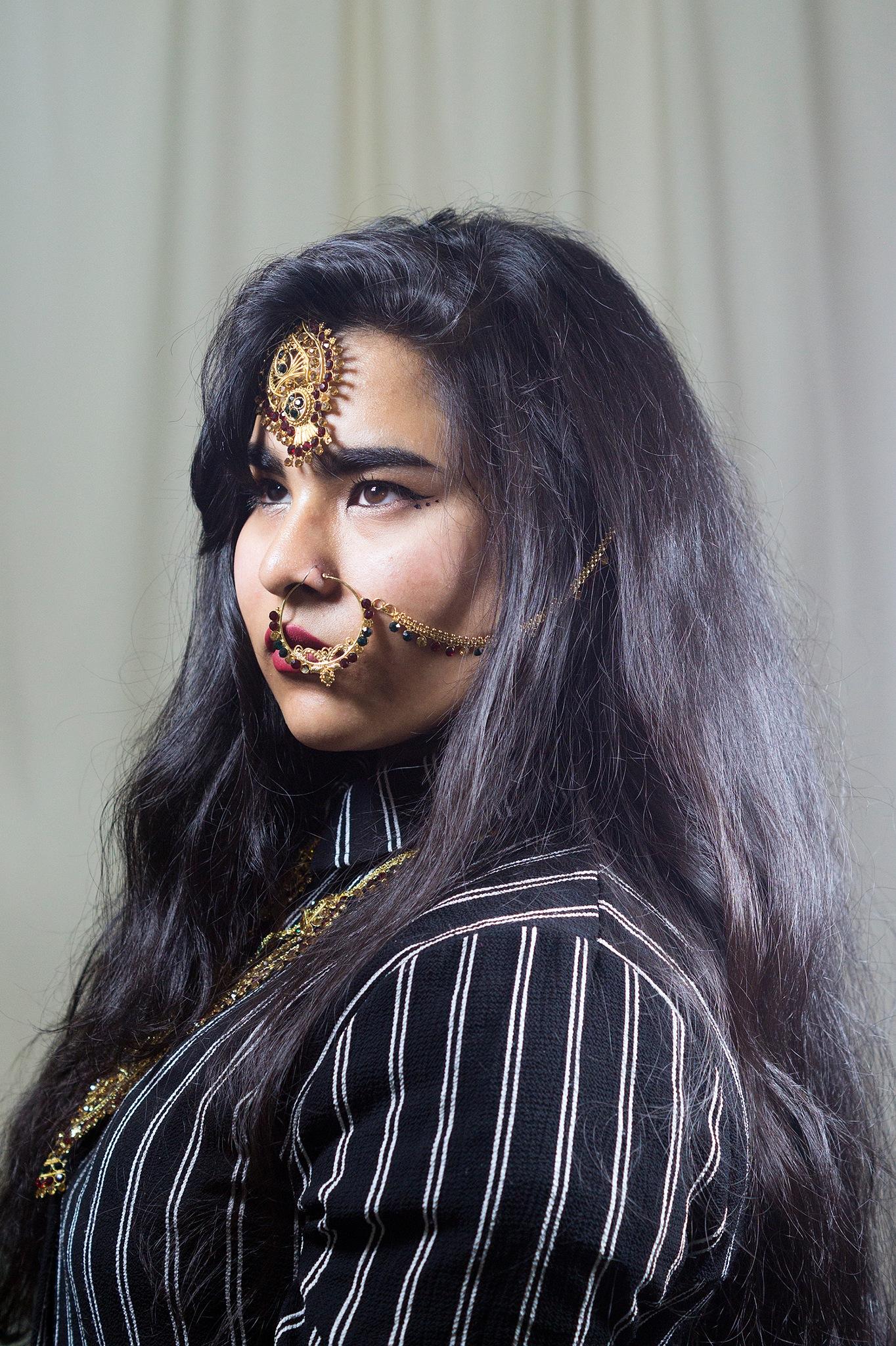 Self Portrait by Syeda Rosina Begum