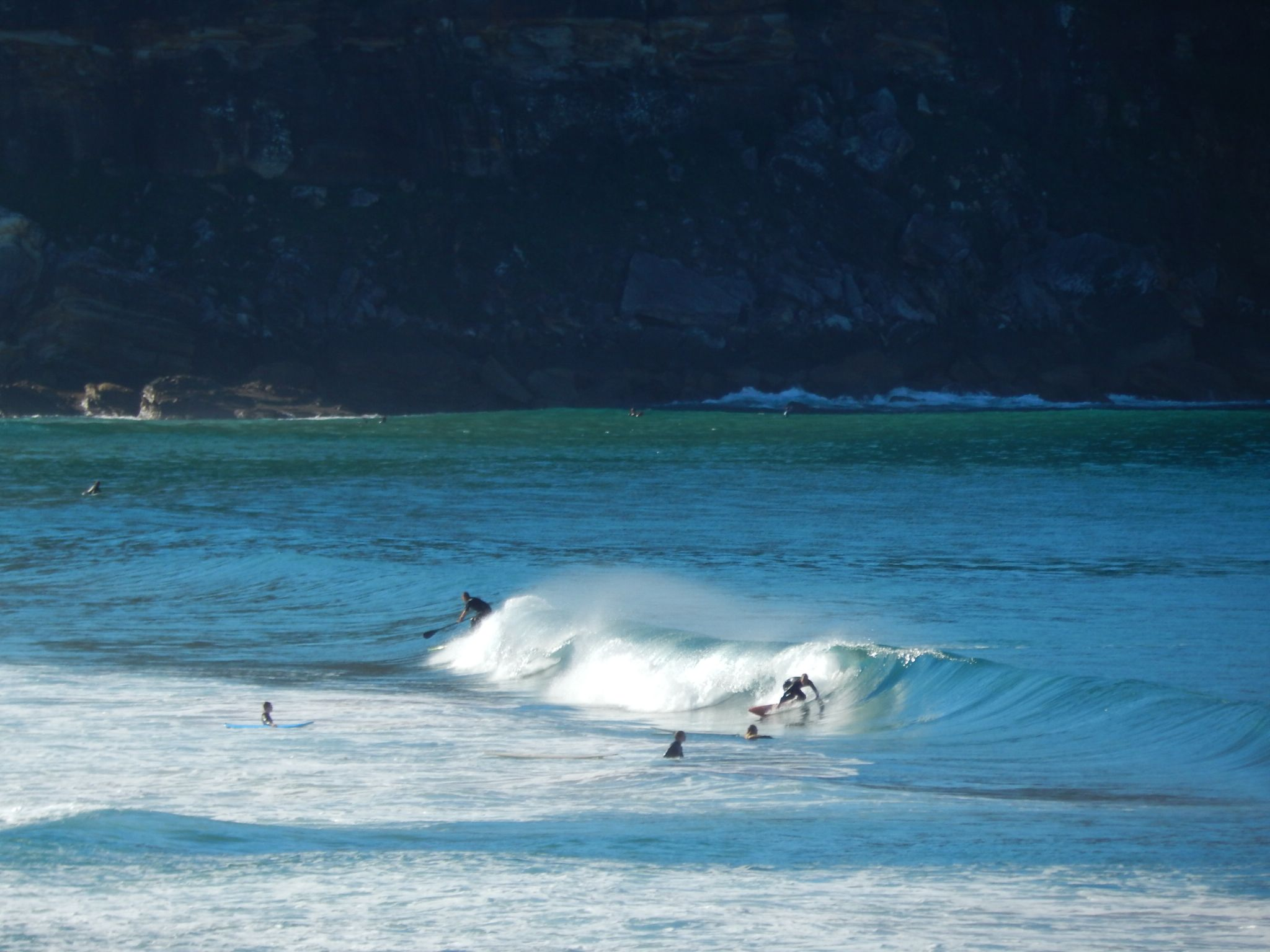 surfing at Summer Bay by twiggy121864