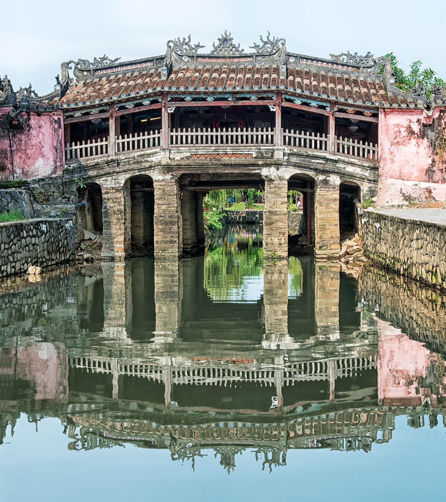 Japanese Covered Bridge, Hoi An by Philip Haber