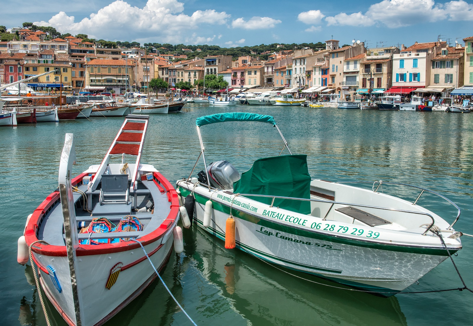 Harbor of Cassis by Philip Haber
