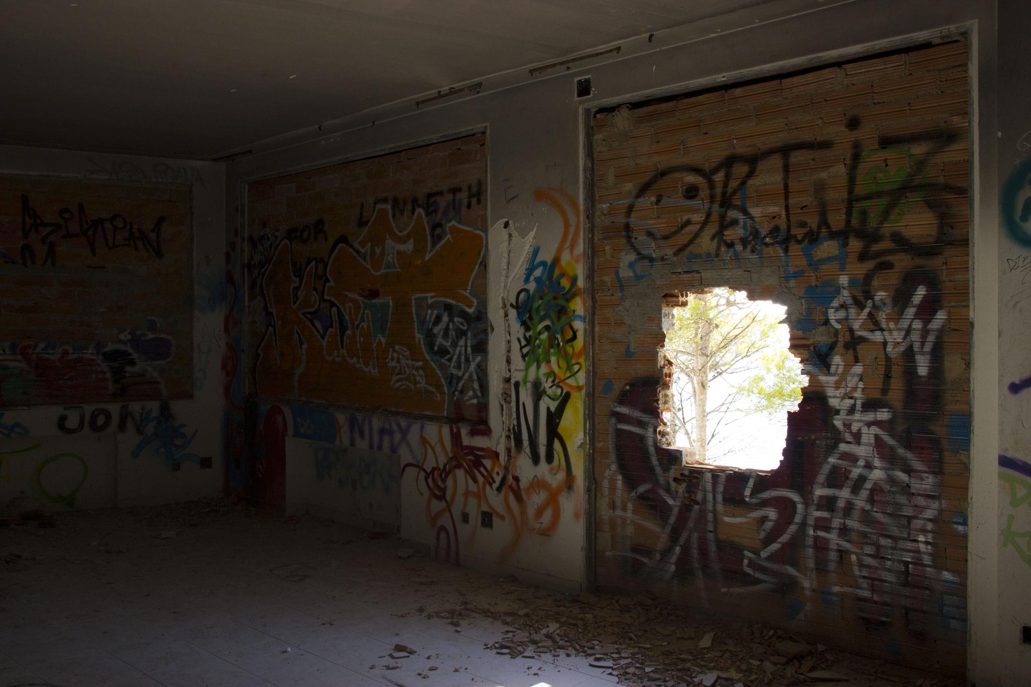 Deserted house III, Spain by Nasta