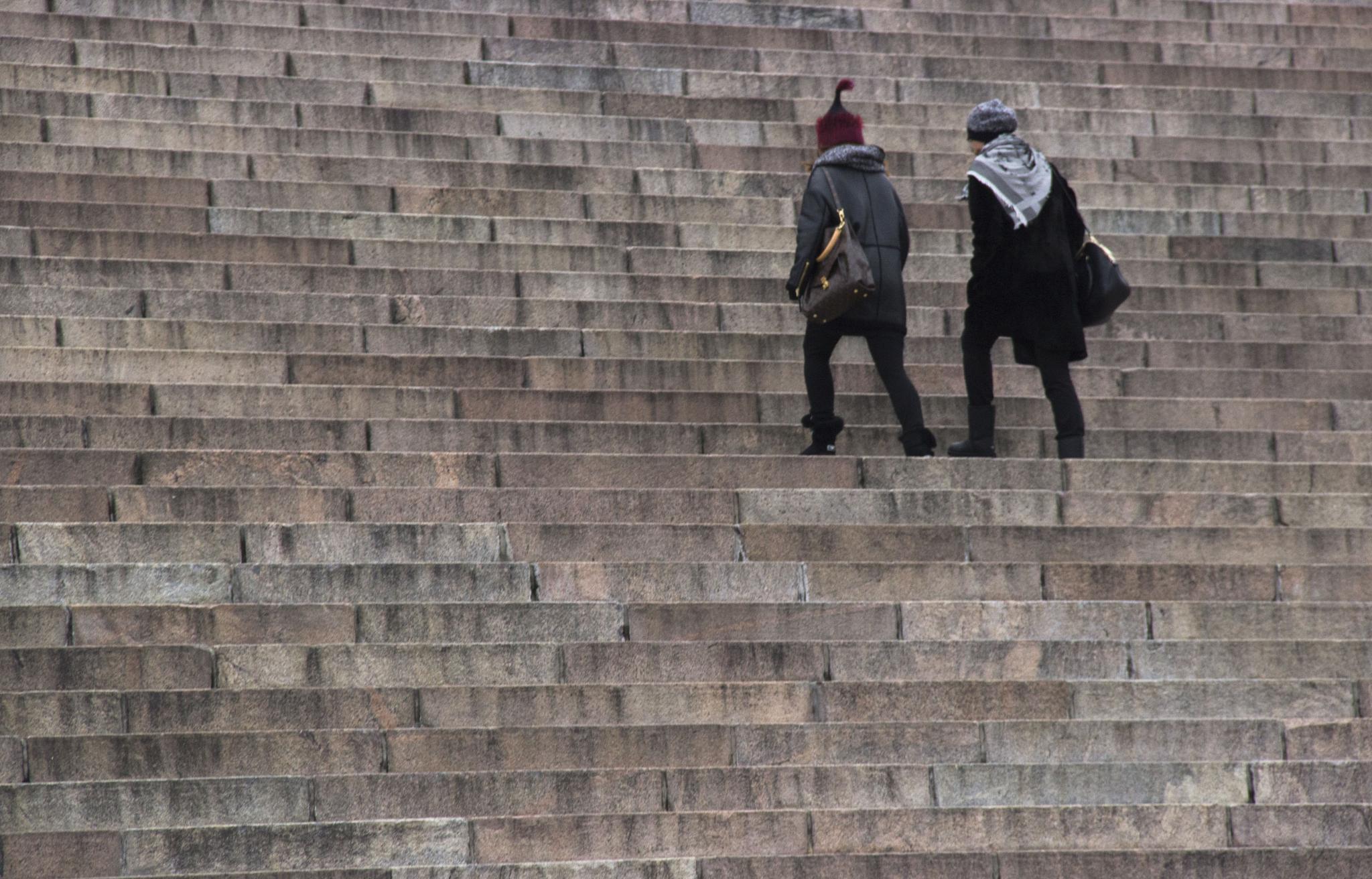 Walkin in Helsinki by Nasta
