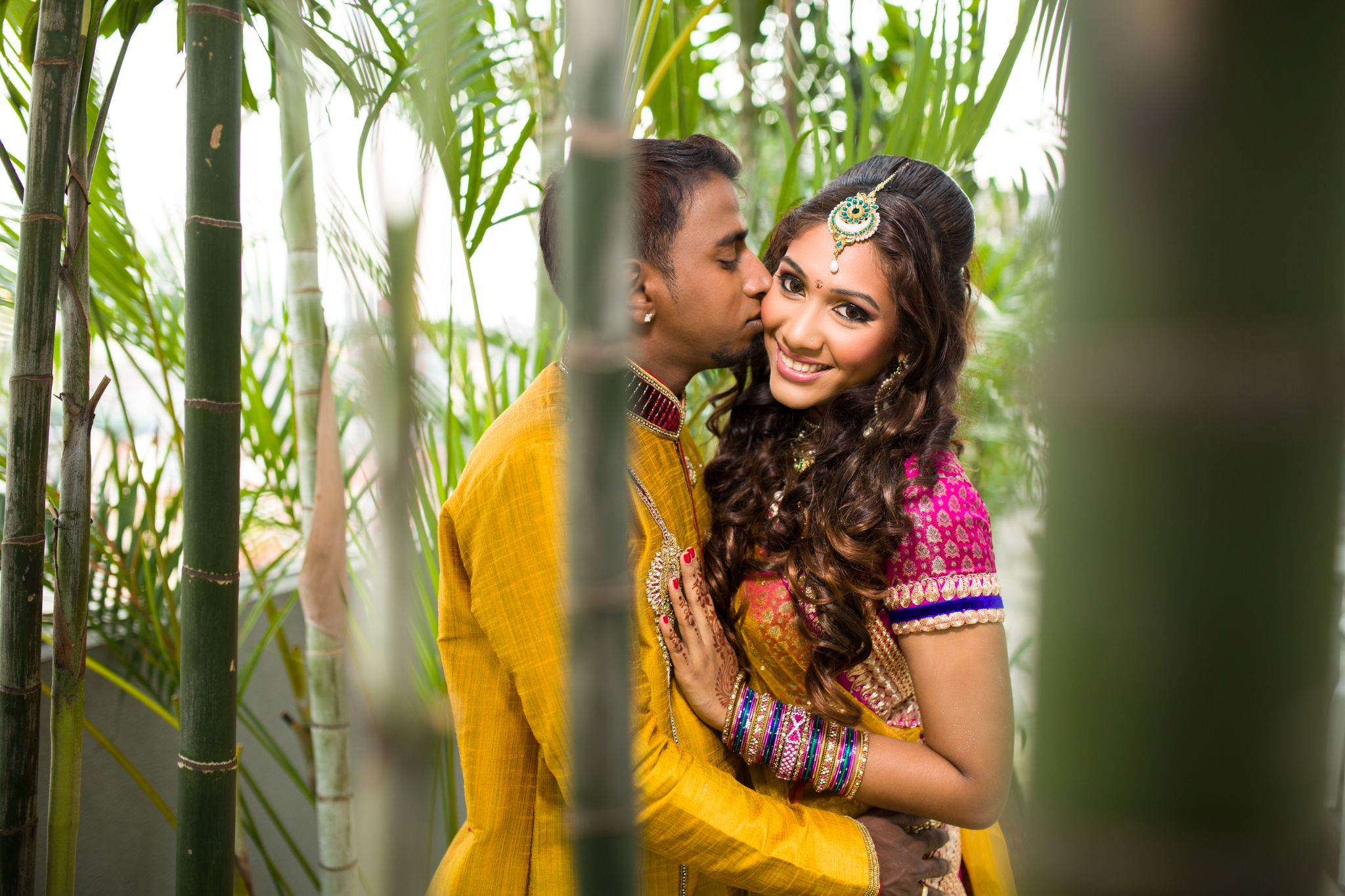 Singapore Indian Wedding by Stephen Chin