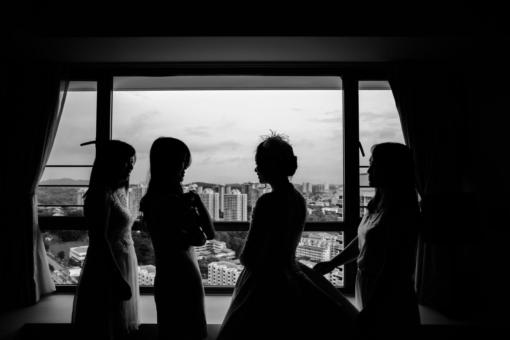 Wedding Preparations by Stephen Chin