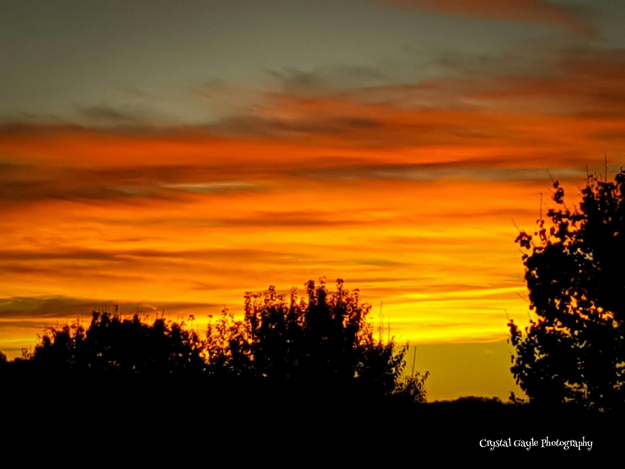 Orange Sky by crystal.plunkett1