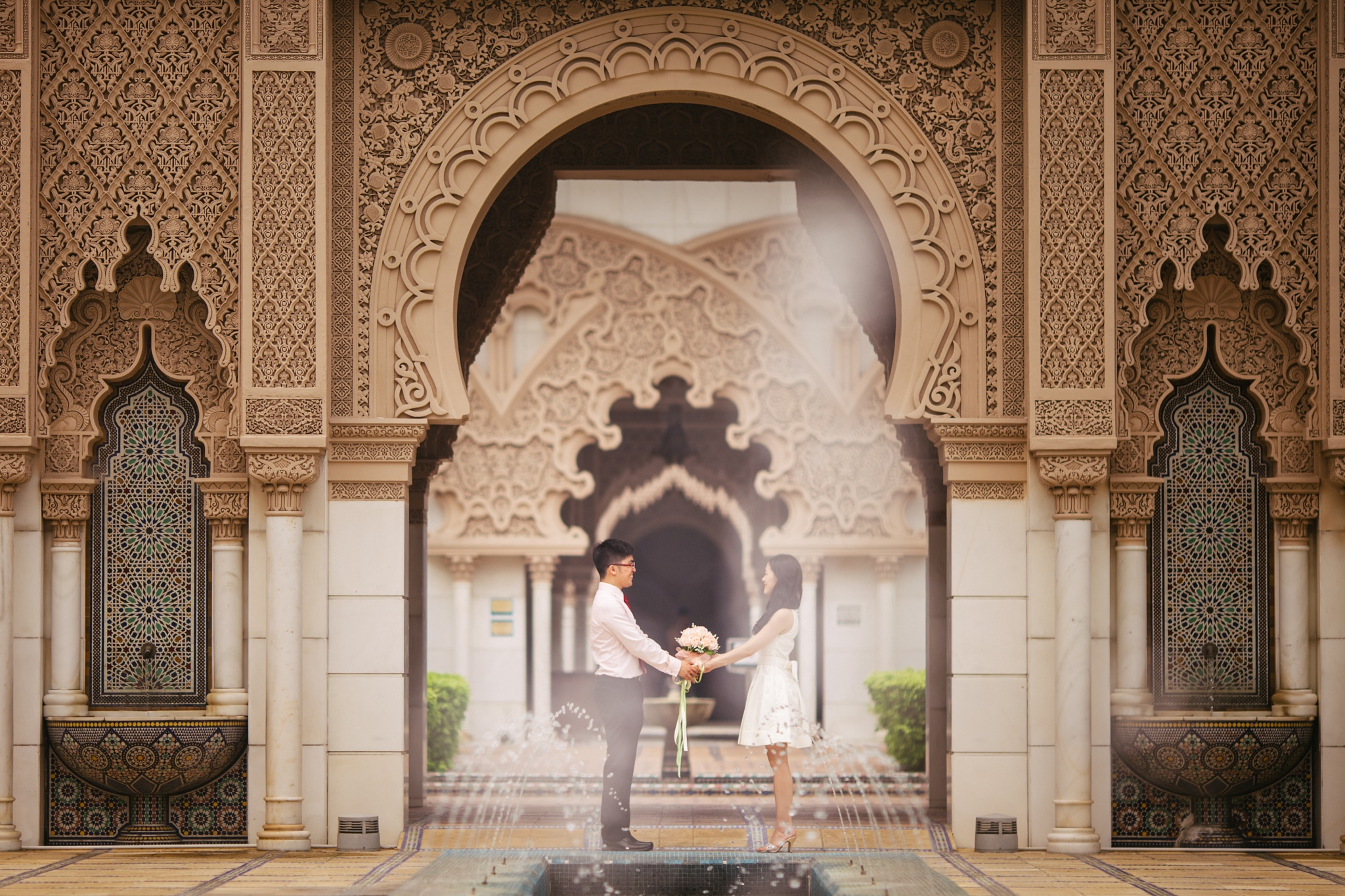 Engagement @ Moroccan Pavilion  by cliff.choong