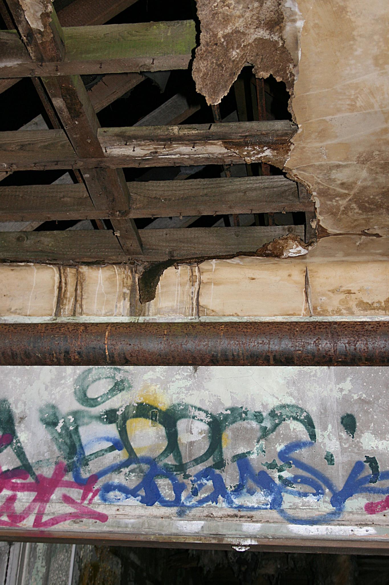 Asylum Roof by Ada N