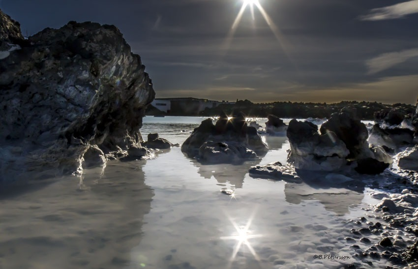 Blue Lagoon  by © B.Pétursson