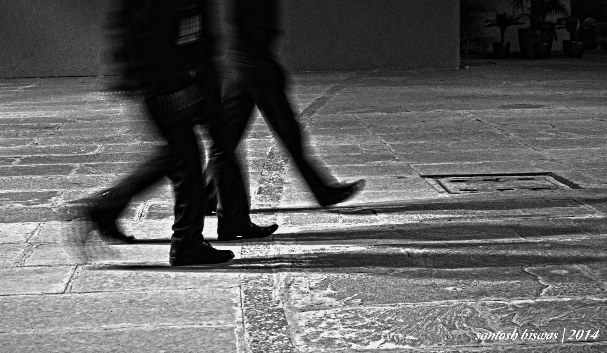 walk together by Santosh Biswas
