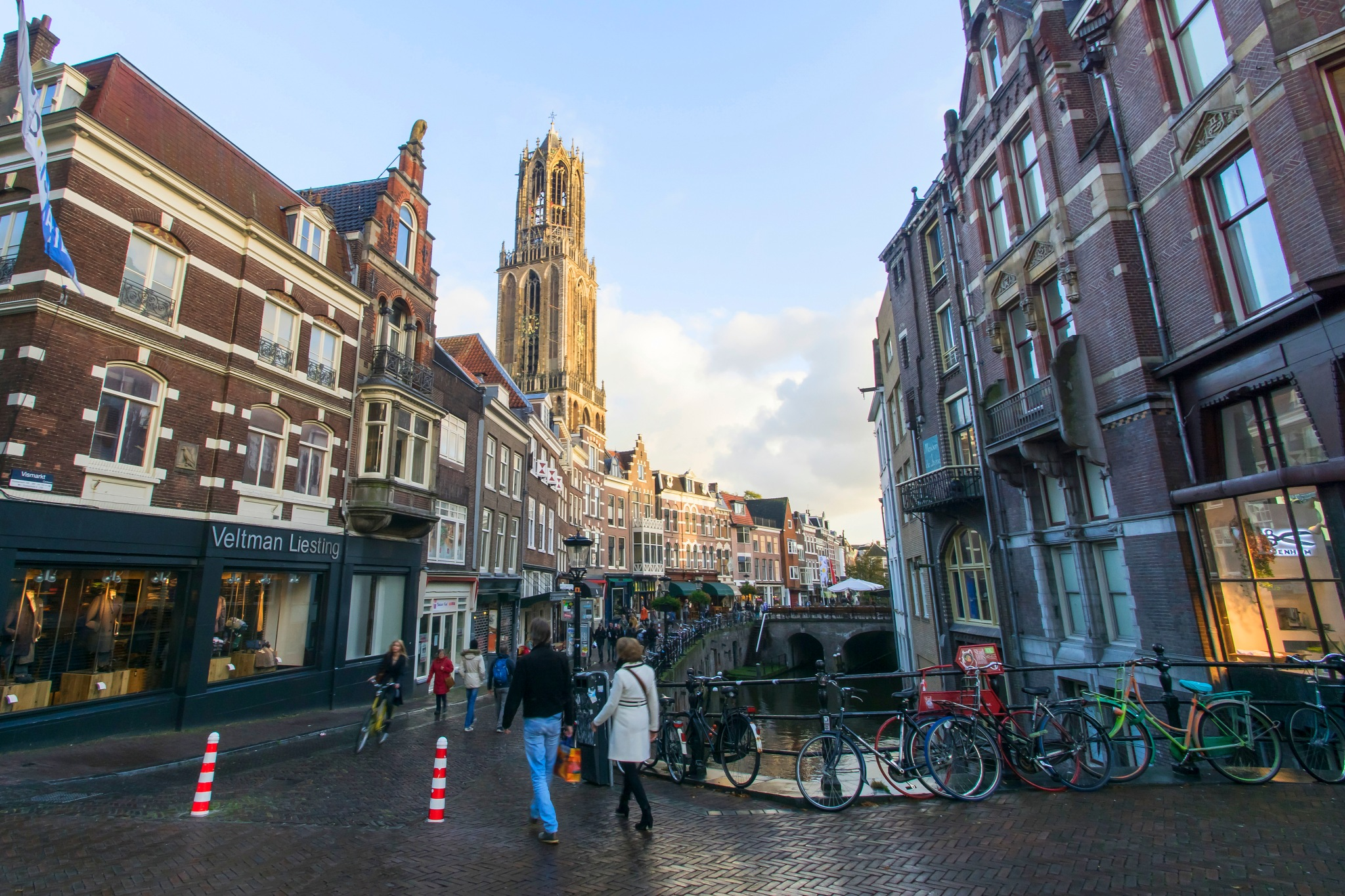 The Grand Old Lady of Utrecht by Rob van der Griend