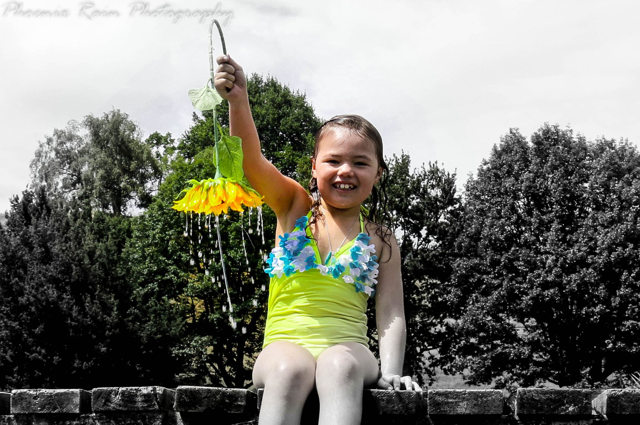 Sunflower happiness by Phoenix Rain