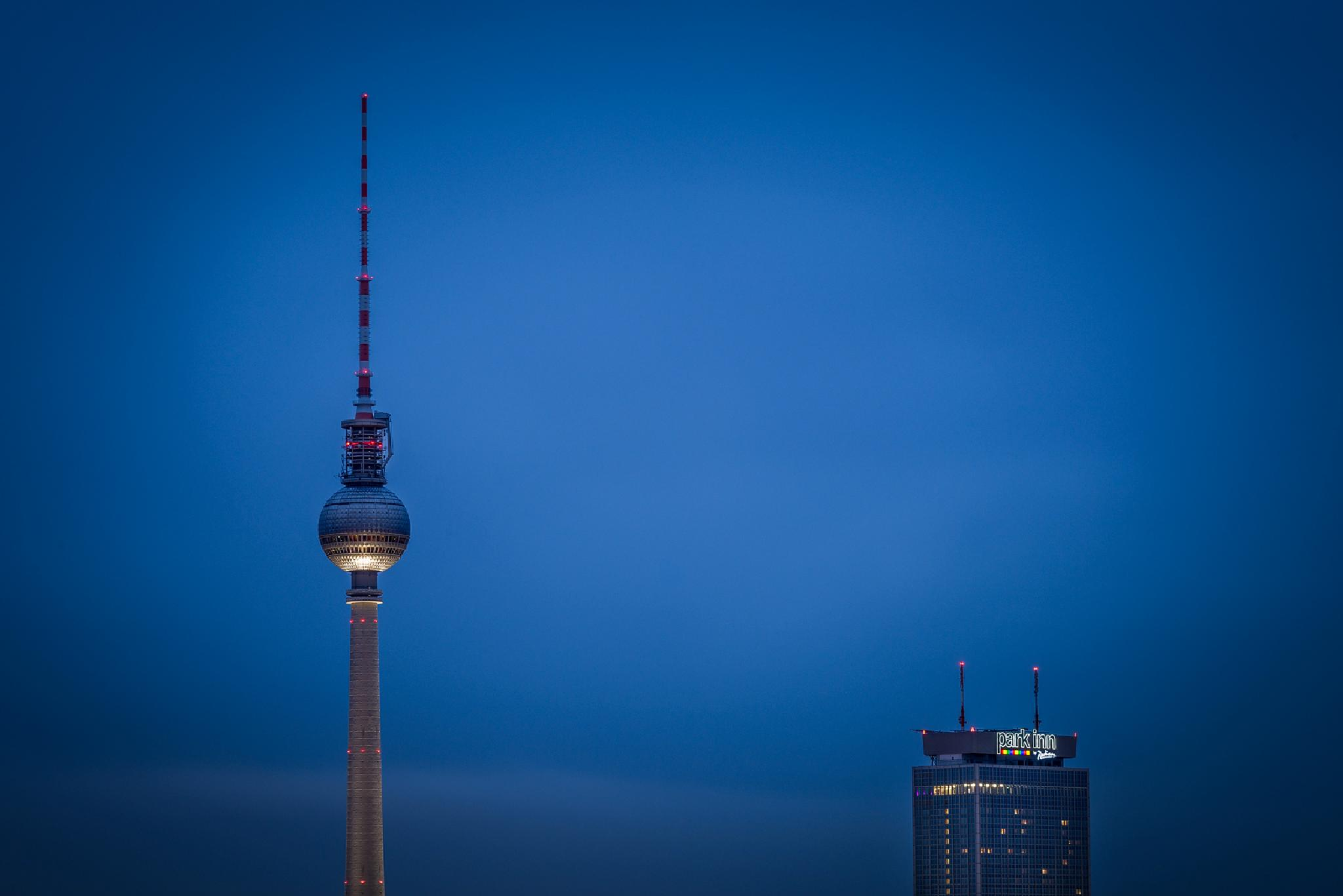 Berlin Telvision Tower and more by ThomasBechtleFotografie