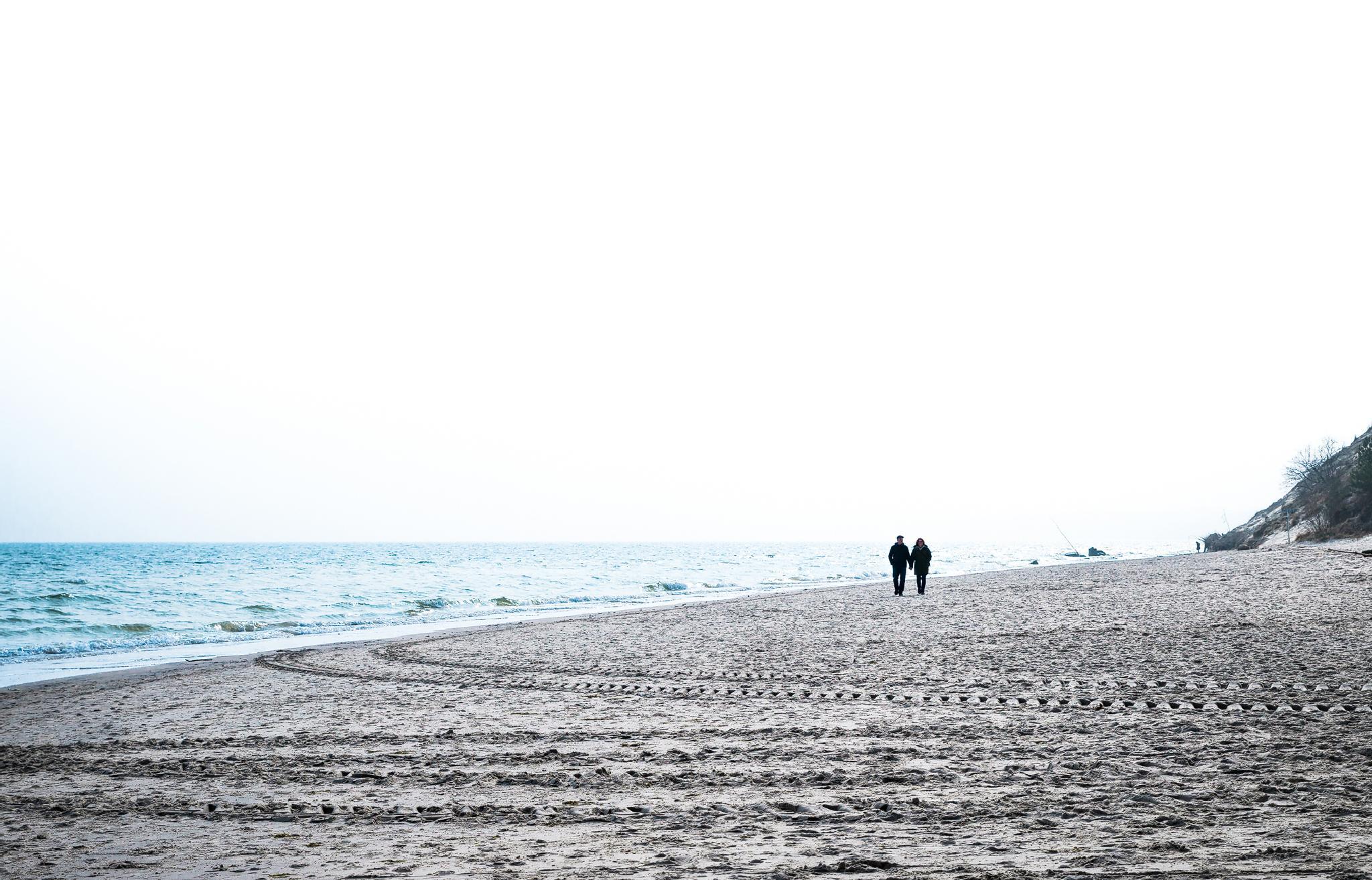 On the beach in spring by ThomasBechtleFotografie