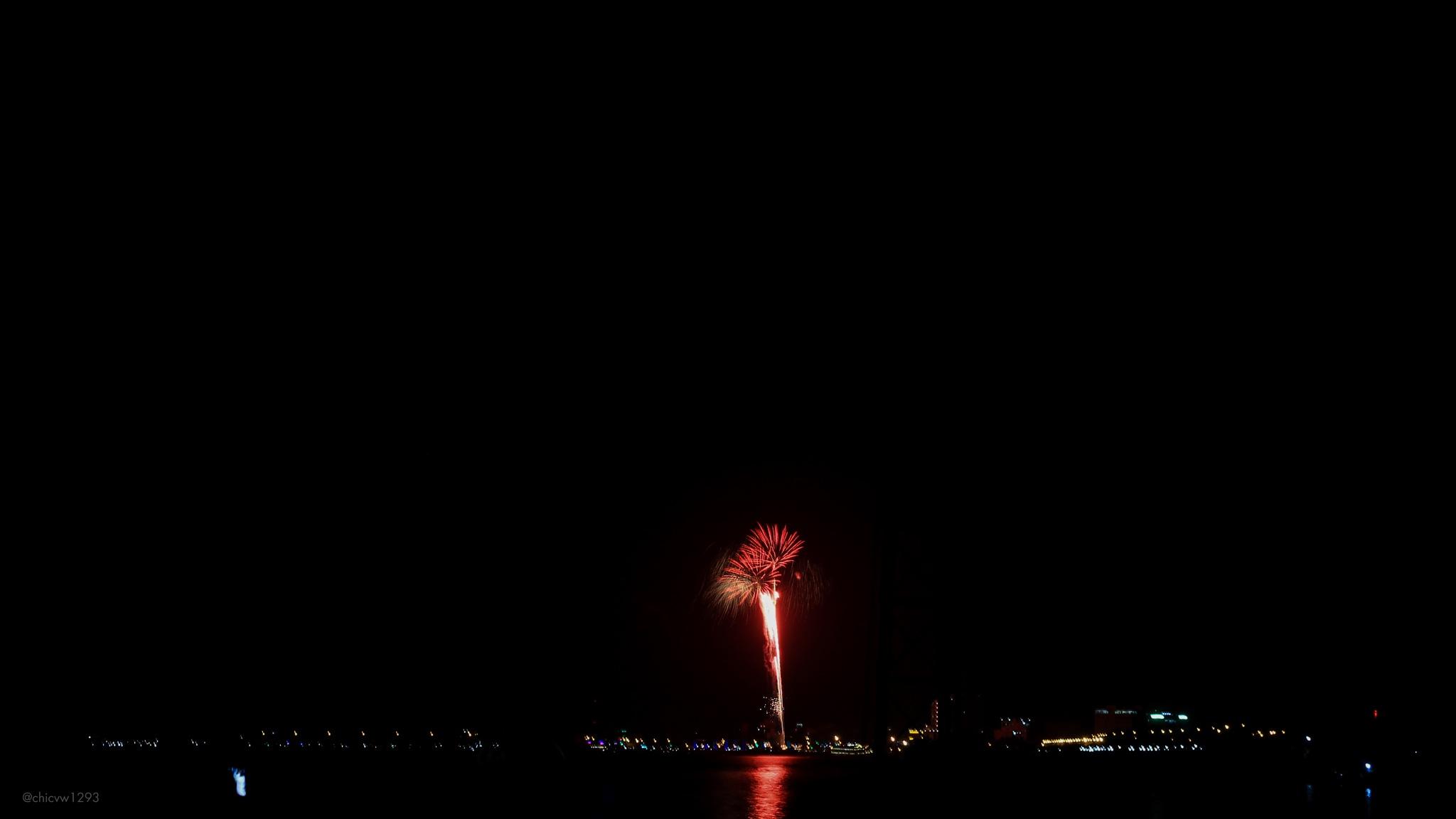 Photo in Concert #firework #lunarnewyear #2019 #vietnam #vinhlong