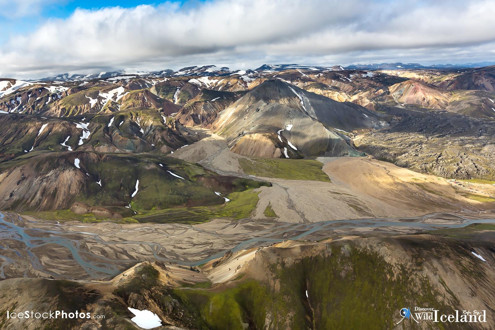 Discover Wild Iceland – Bláhnúkur Mountain in the Highlands of Landmannalaugar by Rafn Sig,-  @ Discover Wild Iceland.com