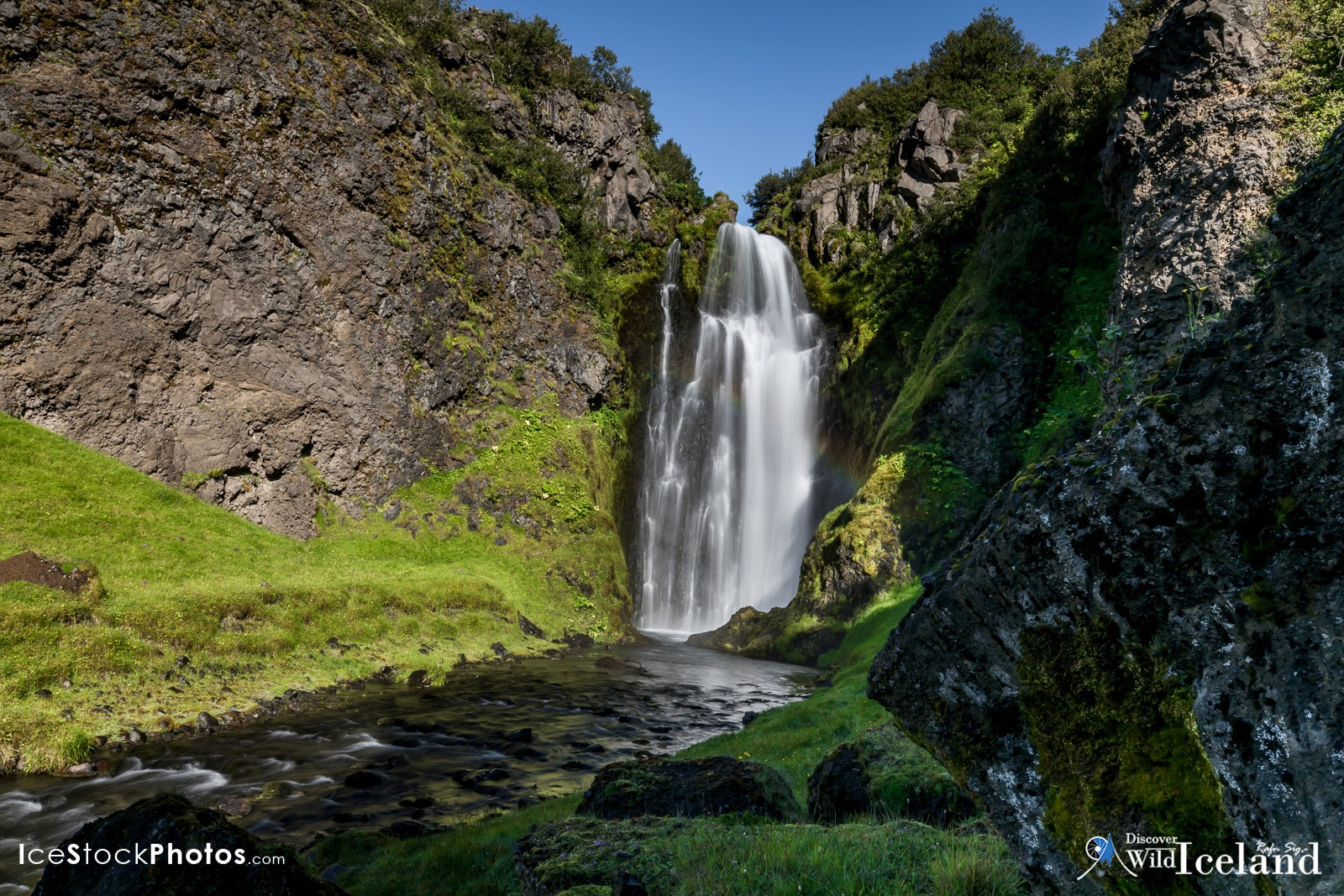 Discover Wild Iceland .is - Documenting this beautiful hidden waterfall in Iceland by Rafn Sig,-  @ Discover Wild Iceland.com