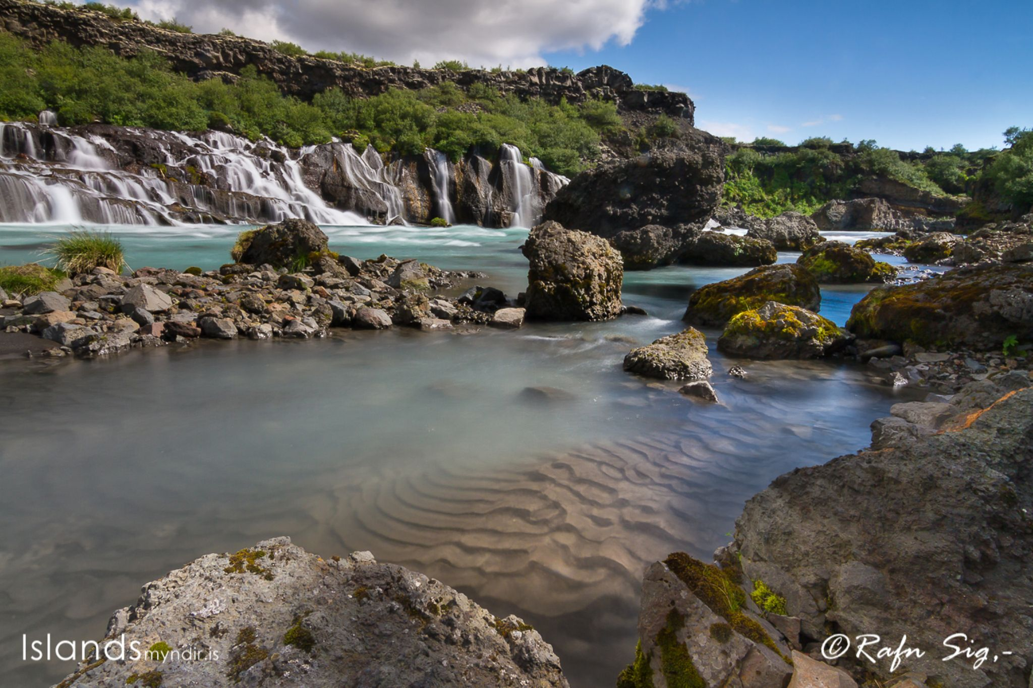 At the riverbank - #Iceland - / - Adventure in every footstep - www.islandsmyndir.is  by Rafn Sig,-  @ Discover Wild Iceland.com