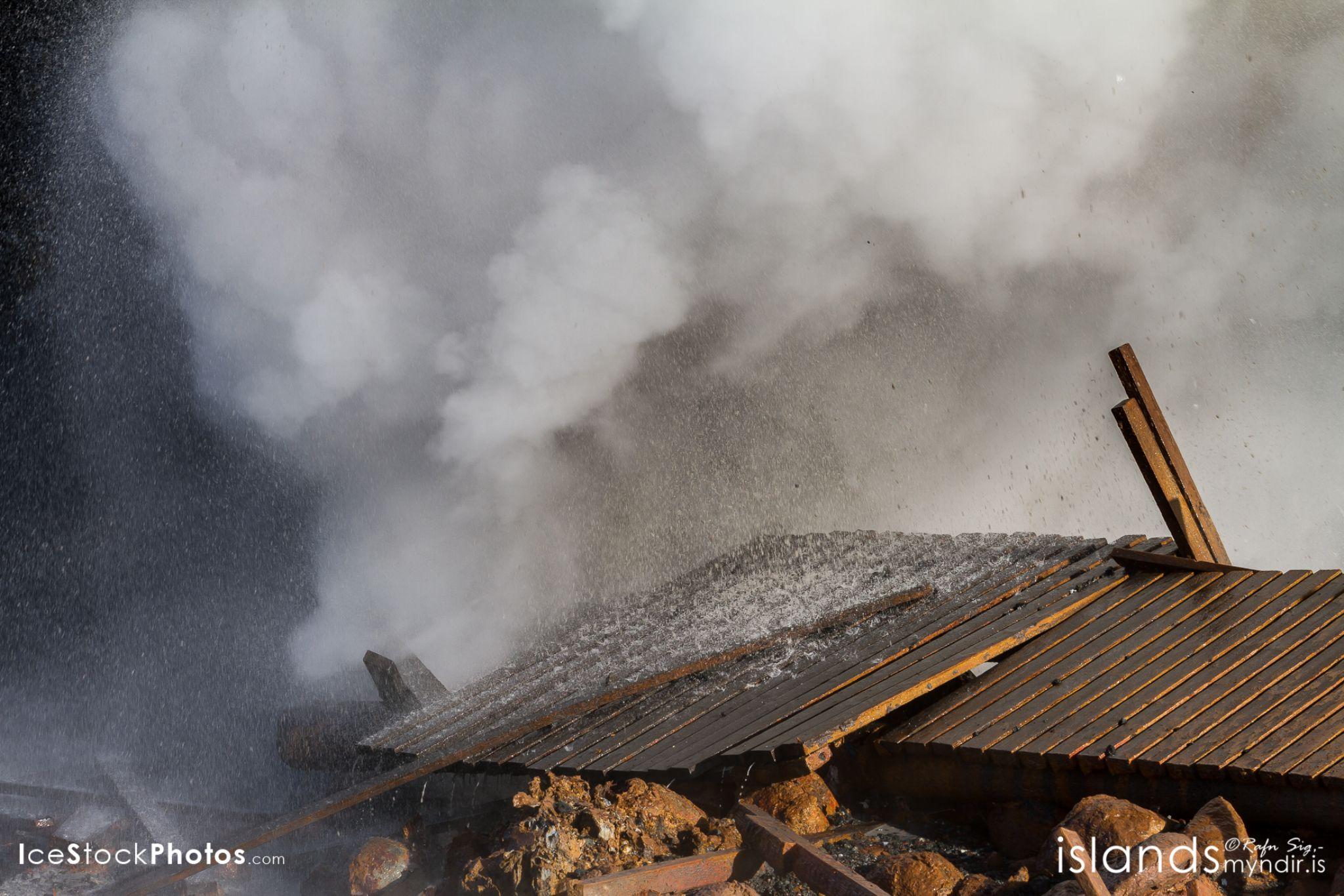"""Gunnuhver (Geyser) is rising so take care"" - #Iceland by Rafn Sig,-  @ Discover Wild Iceland.com"
