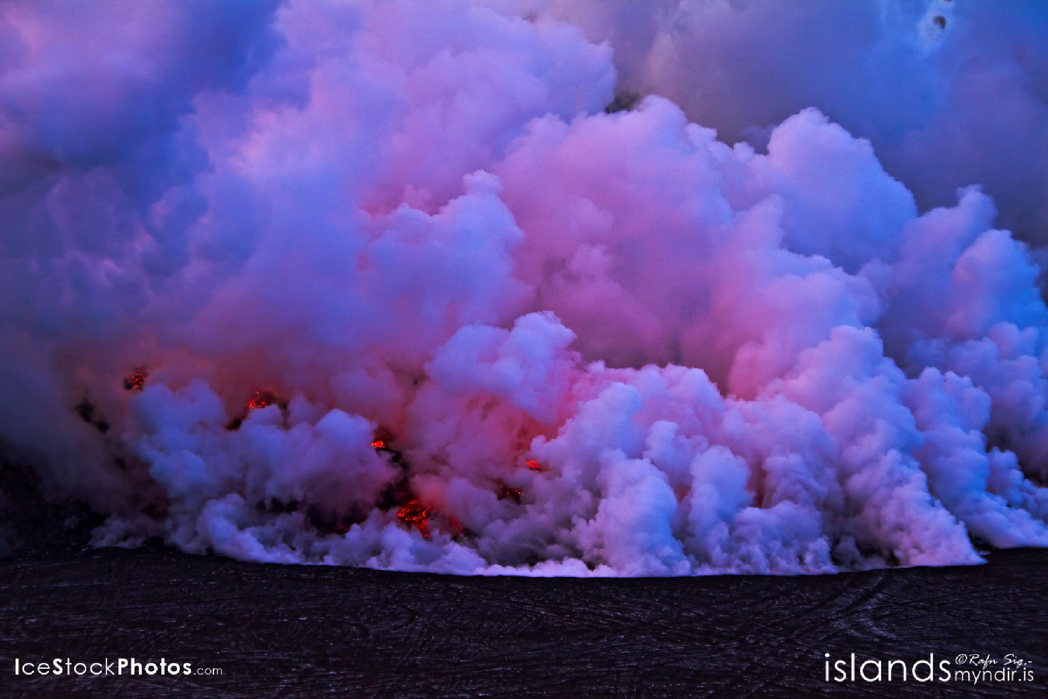 """""""And the Lava keeps coming"""" - #Iceland by Rafn Sig,-  @ Discover Wild Iceland.com"""