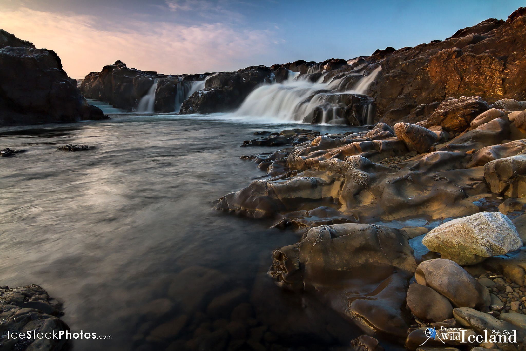 Discover Wild Iceland – Like Langárfoss in winter by Rafn Sig,-  @ Discover Wild Iceland.com