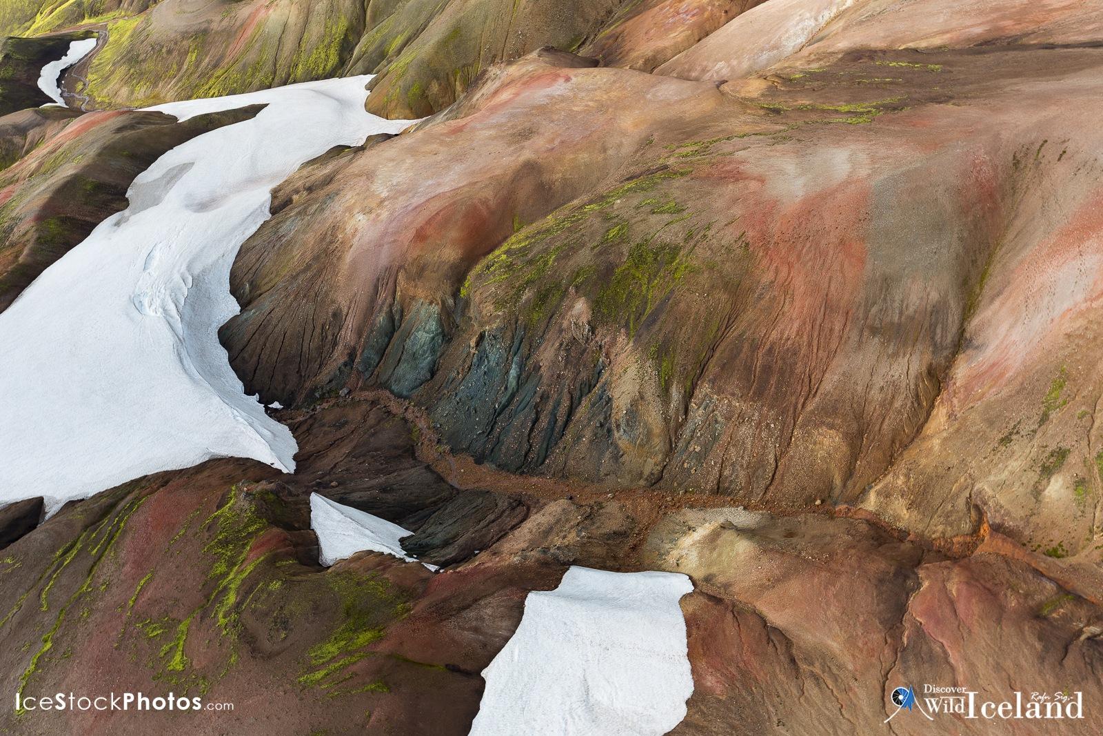 Discover Wild Iceland – Hrafntinnusker, Geothermal area by Rafn Sig,-  @ Discover Wild Iceland.com
