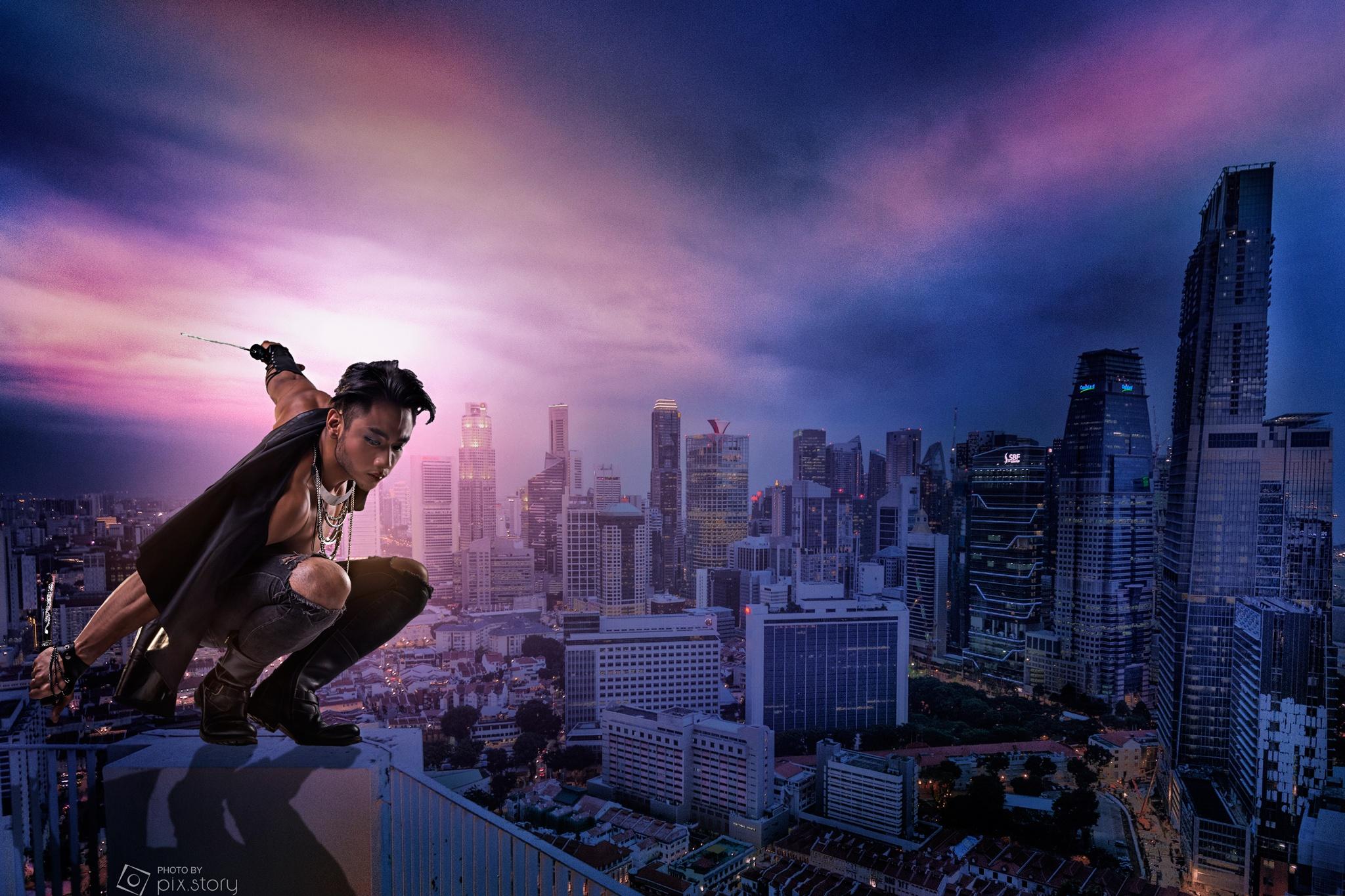 leap of faith by Leonard Chua