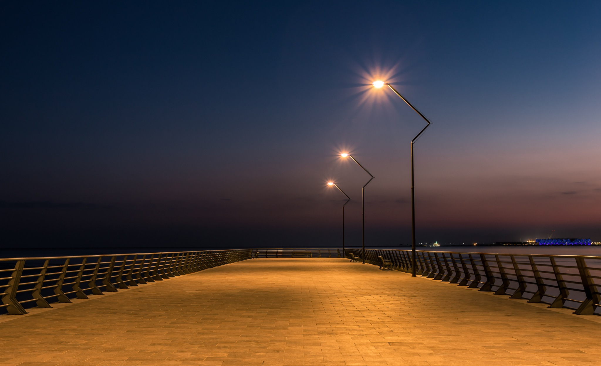 Evening on the seafront by Emil Qazi