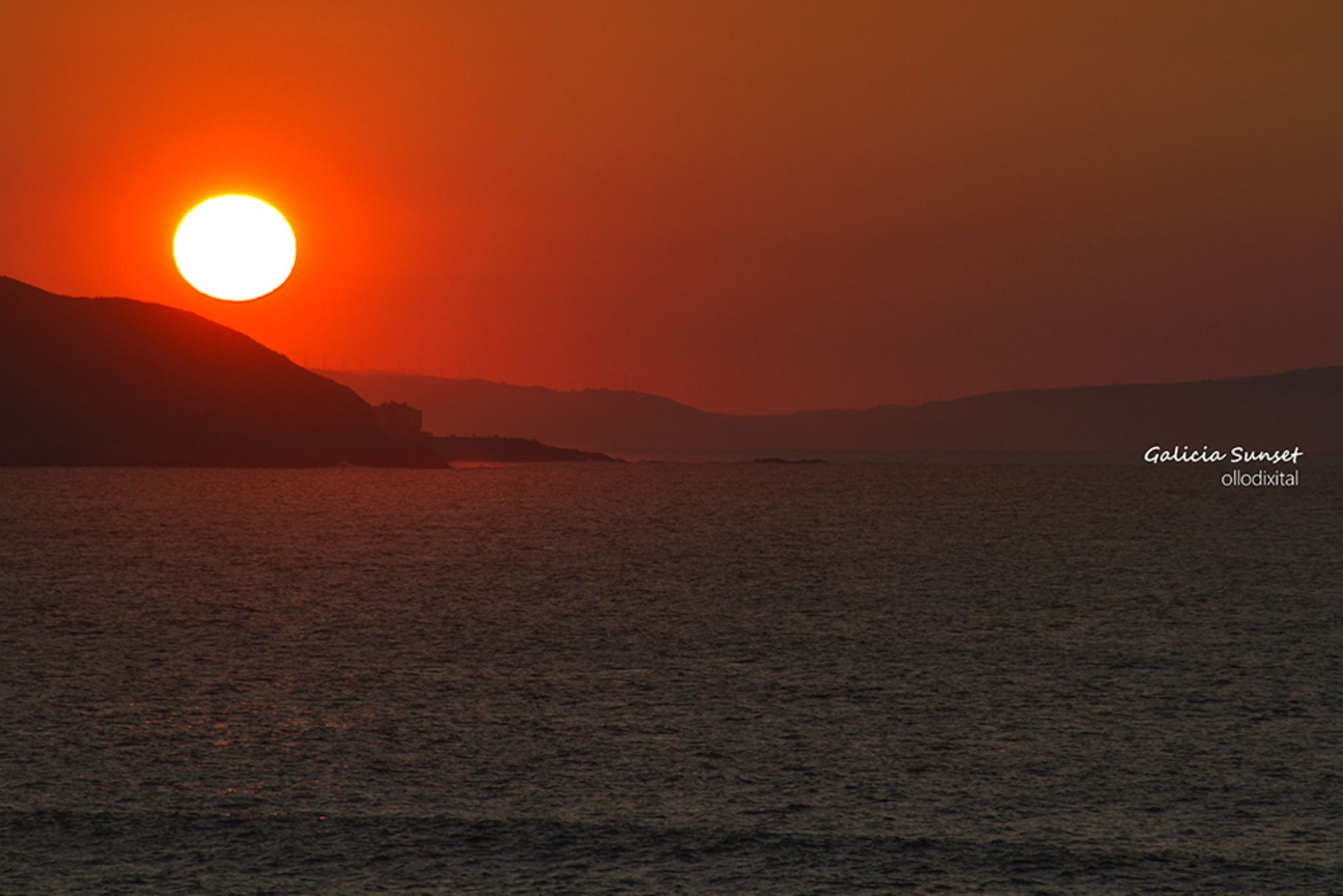 Galicia Sunset by OlloDixital